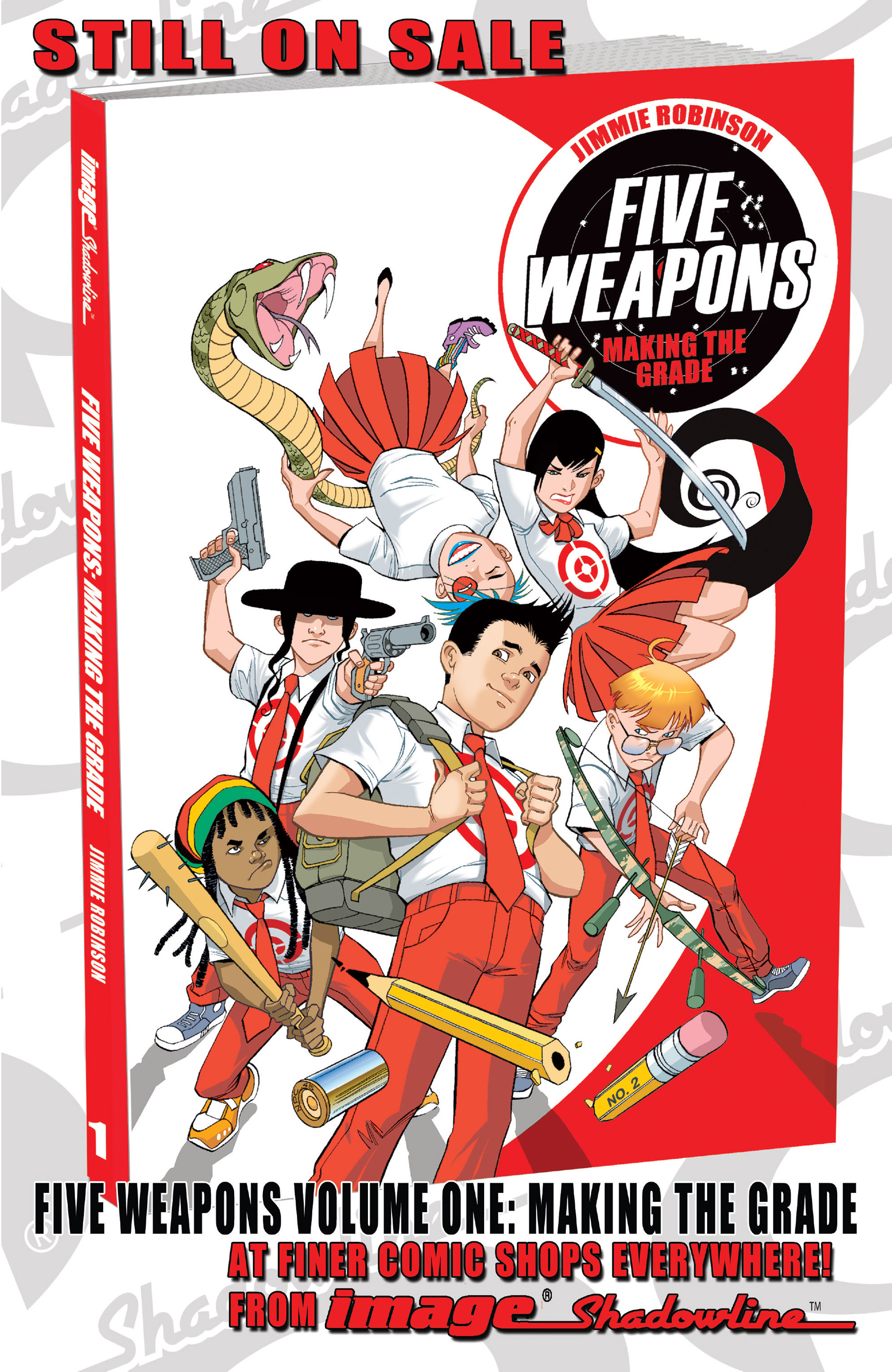Read online Five Weapons comic -  Issue #6 - 25