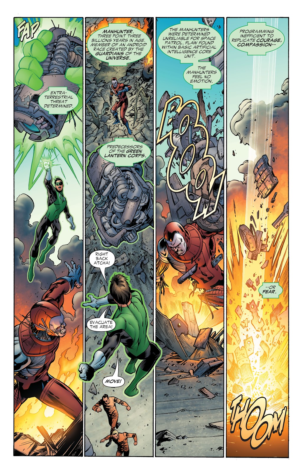 Read online Green Lantern by Geoff Johns comic -  Issue # TPB 1 (Part 4) - 40