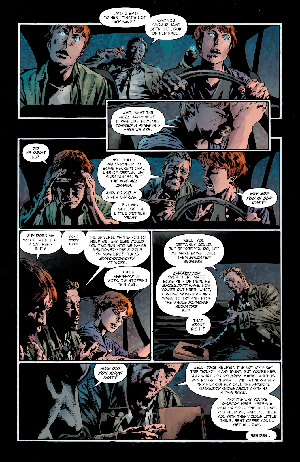 Read online The Curse of Brimstone: Ashes comic -  Issue # TPB (Part 1) - 12