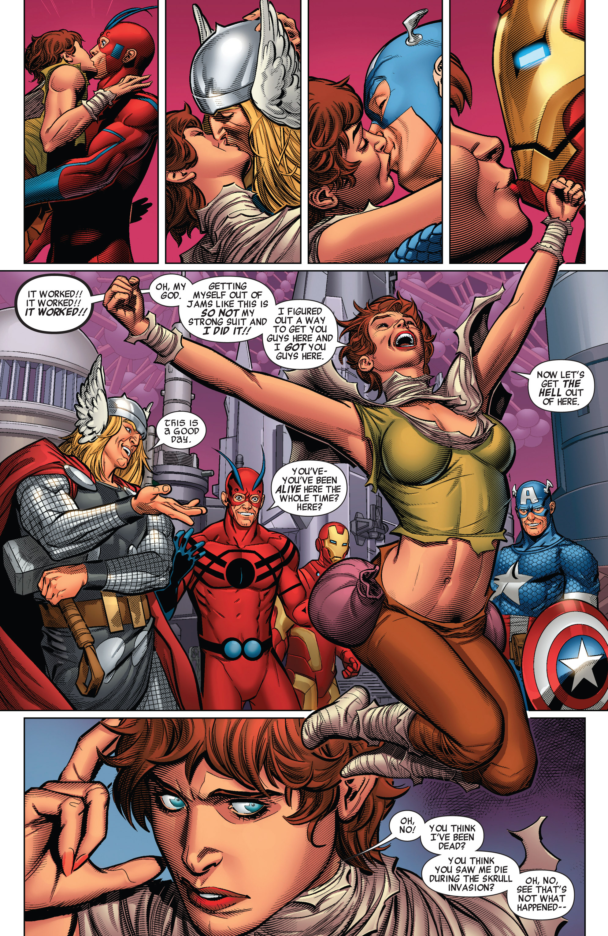 Read online Avengers (2010) comic -  Issue #32 - 18