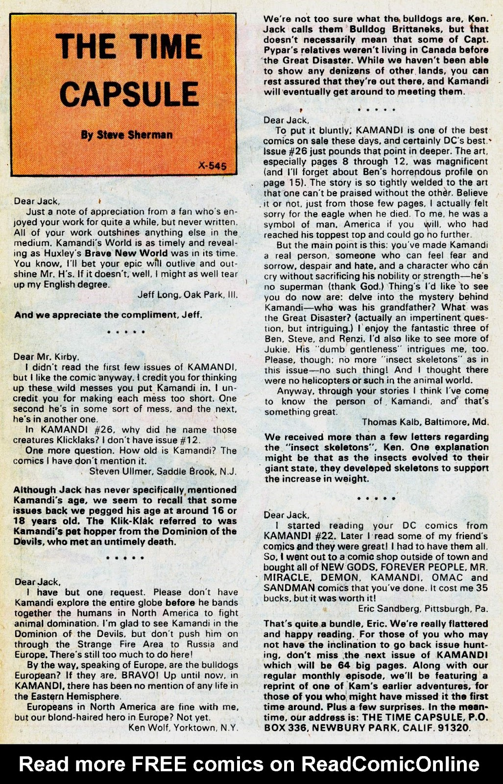 Kamandi, The Last Boy On Earth issue 31 - Page 21