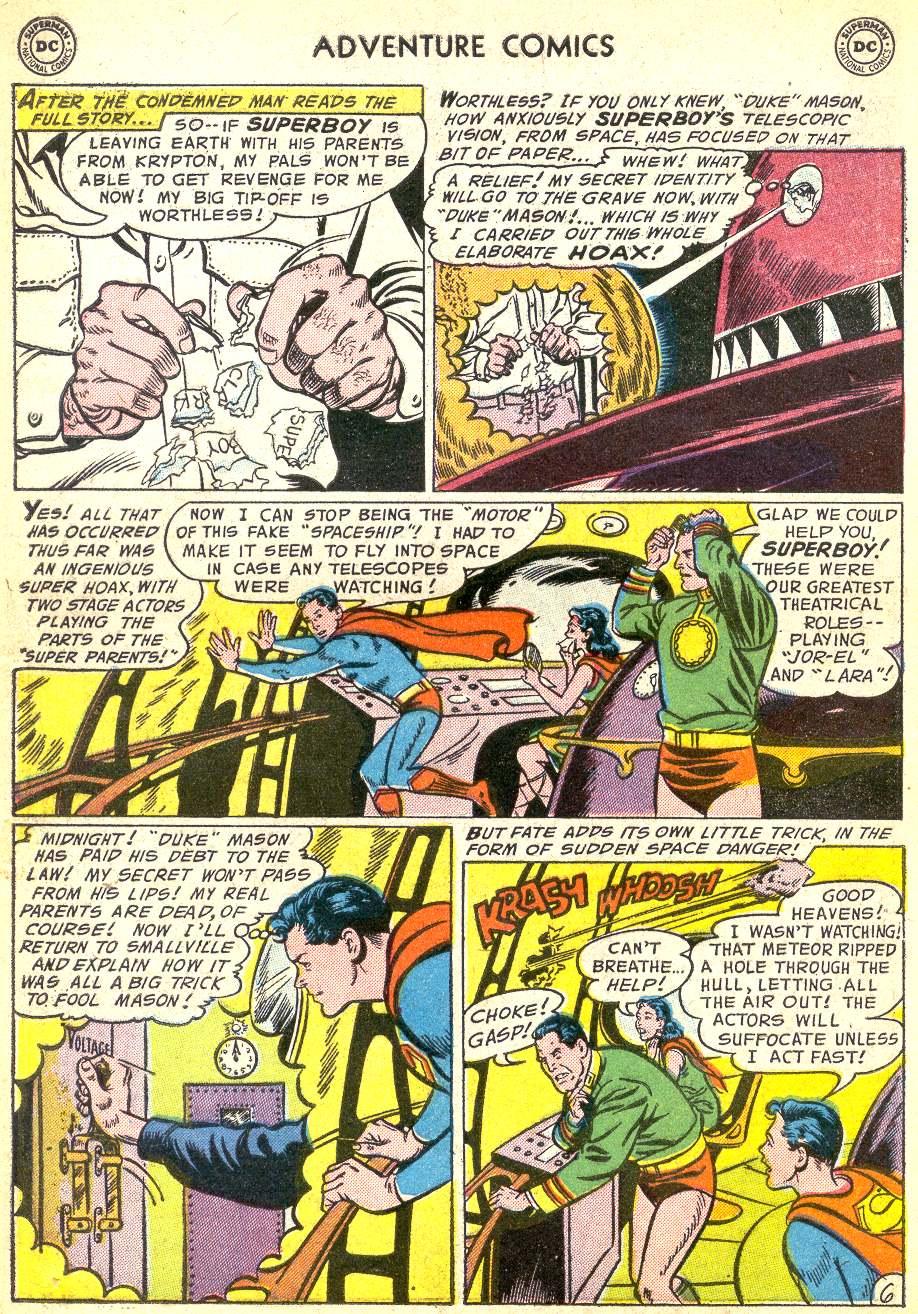 Read online Adventure Comics (1938) comic -  Issue #218 - 8