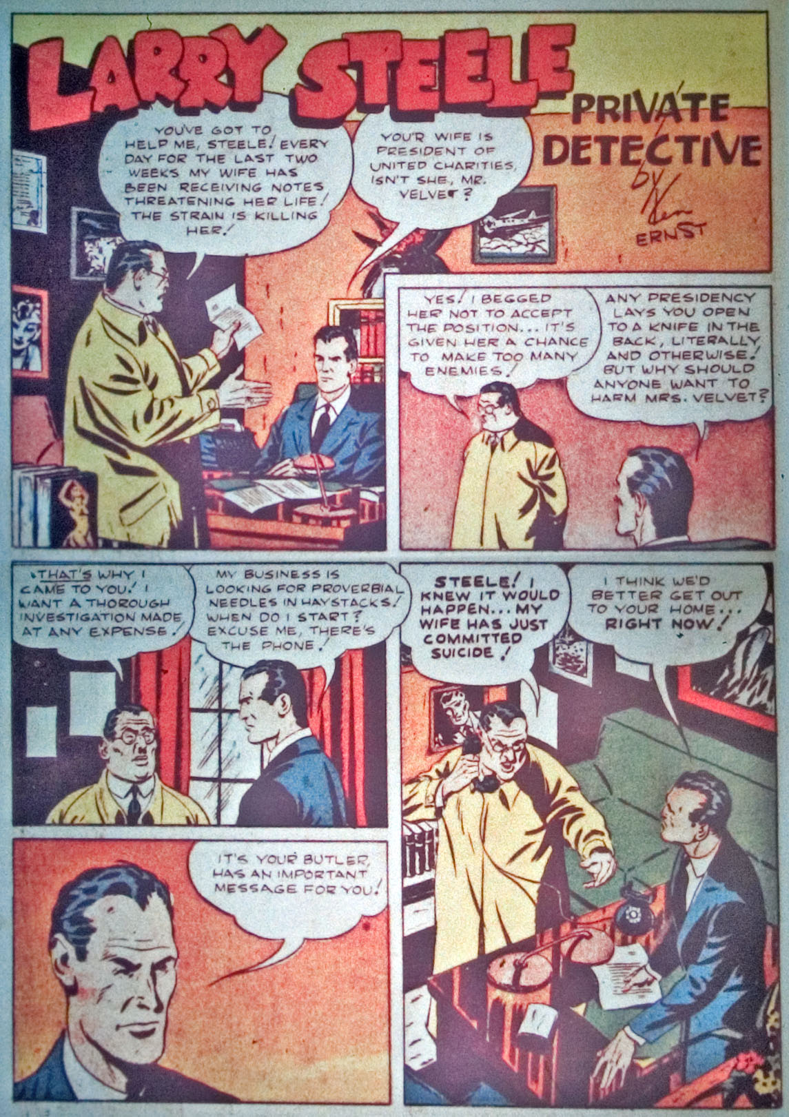 Read online Detective Comics (1937) comic -  Issue #31 - 28