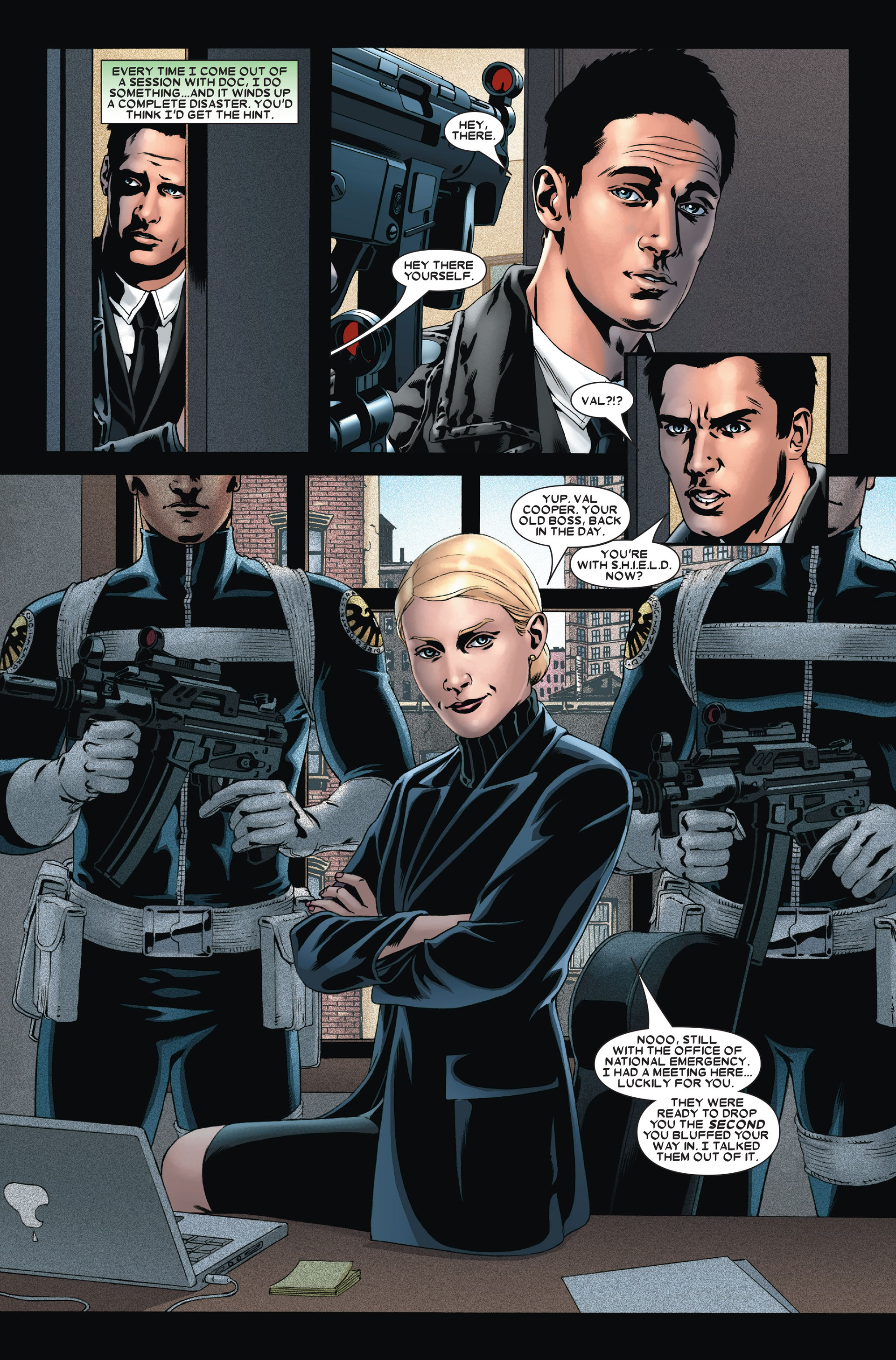 Read online X-Factor (2006) comic -  Issue #14 - 21