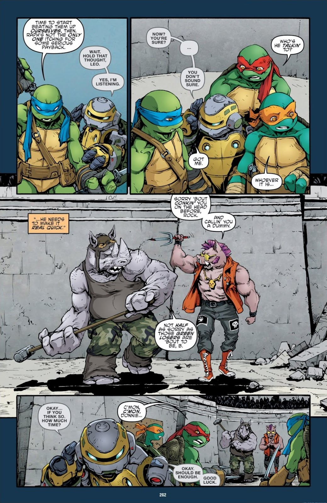Read online Teenage Mutant Ninja Turtles: The IDW Collection comic -  Issue # TPB 6 (Part 3) - 55