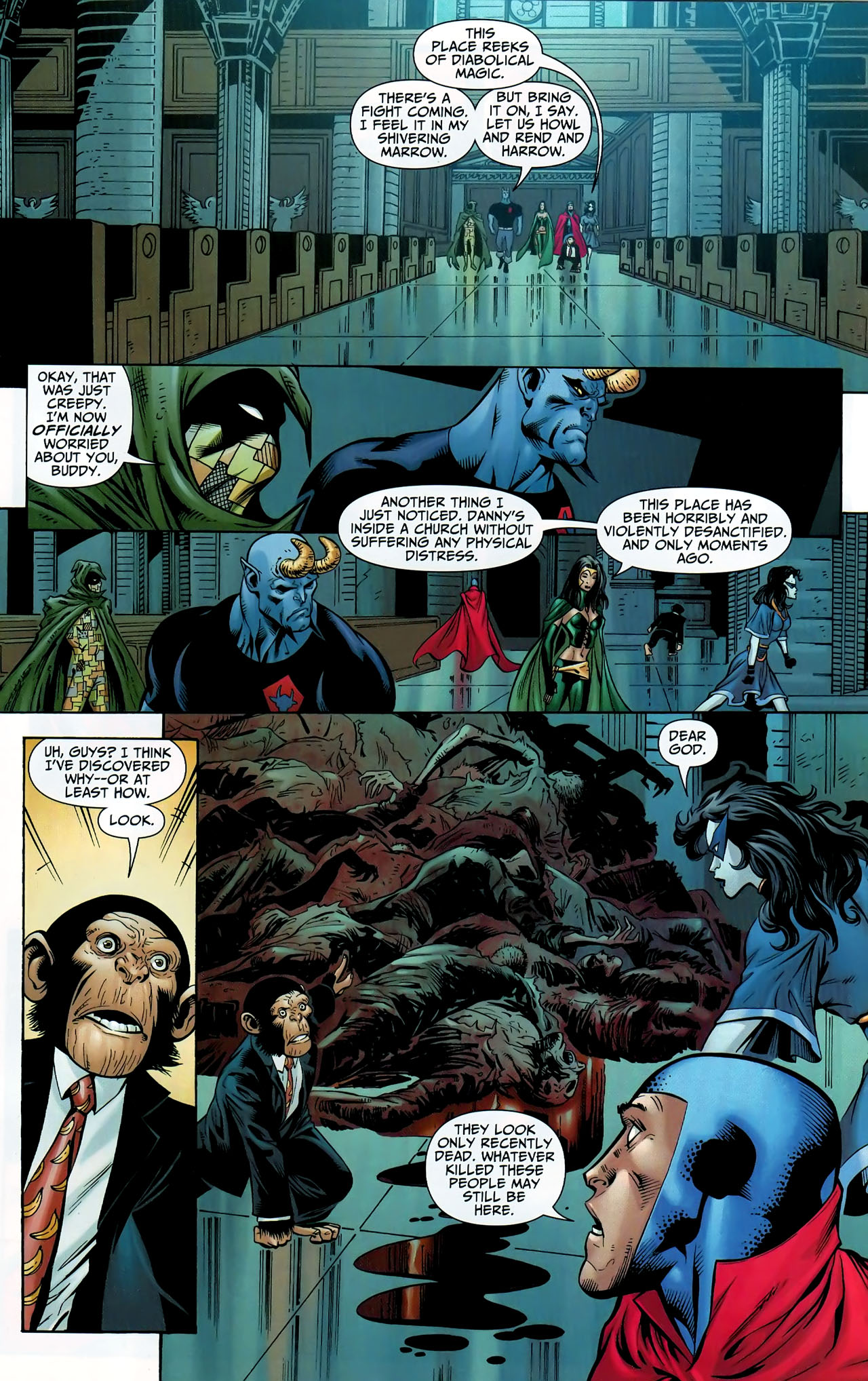 Read online Shadowpact comic -  Issue #9 - 11