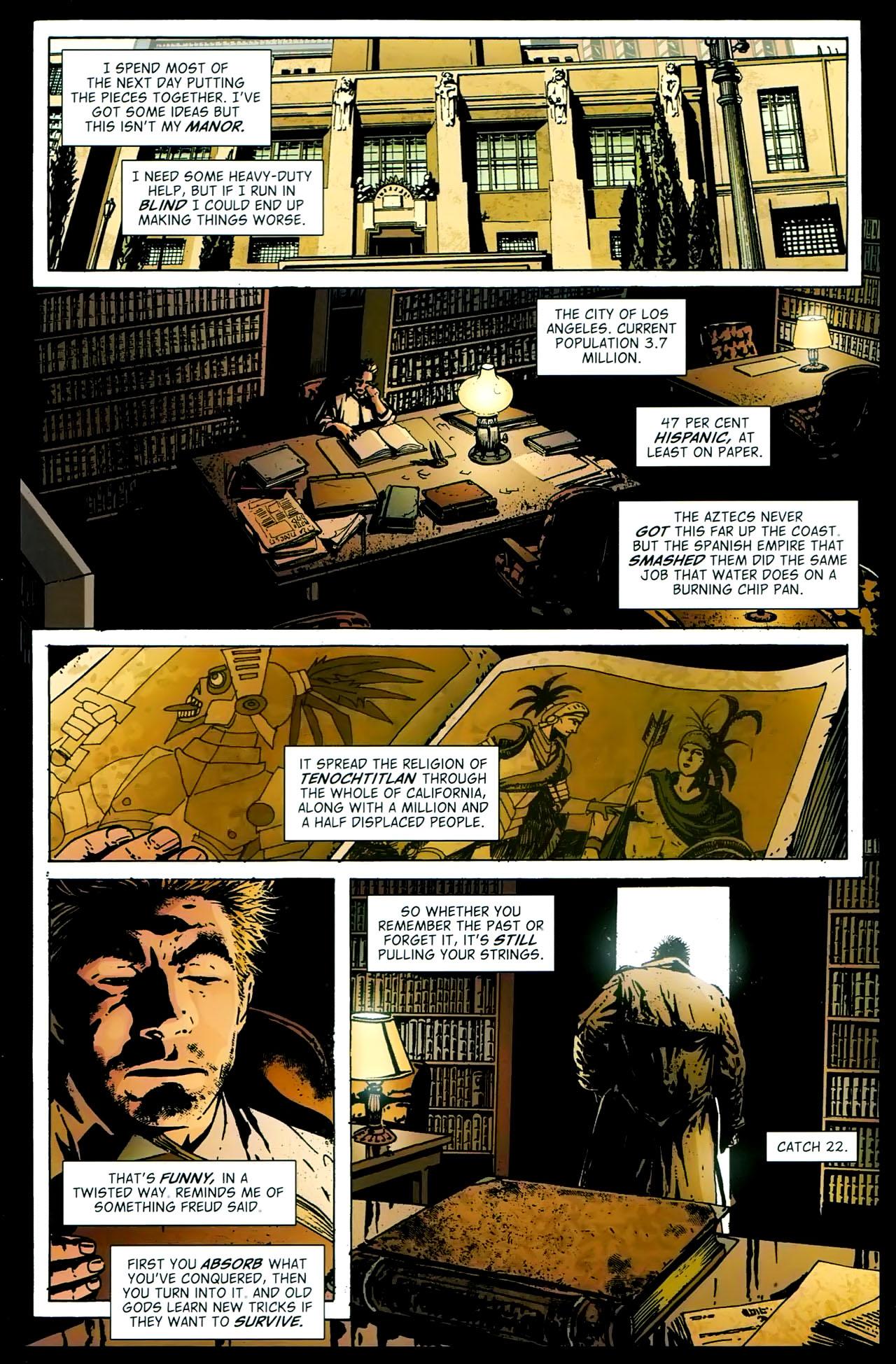 Read online John Constantine Hellblazer: All His Engines comic -  Issue # Full - 48