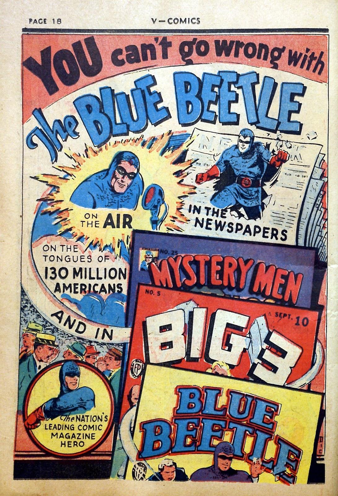 Read online V...- Comics comic -  Issue #2 - 19
