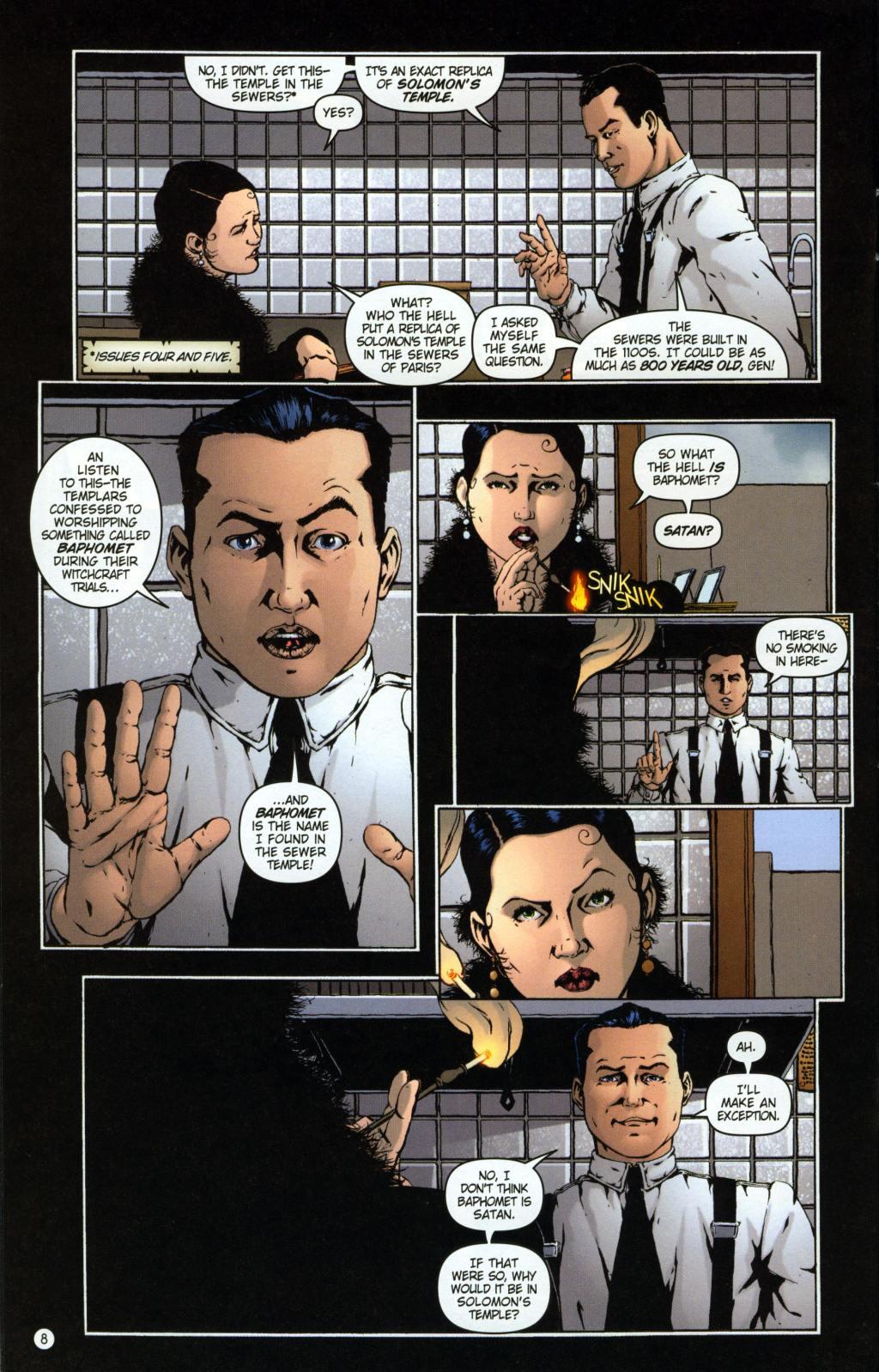Read online Rex Mundi comic -  Issue #7 - 12