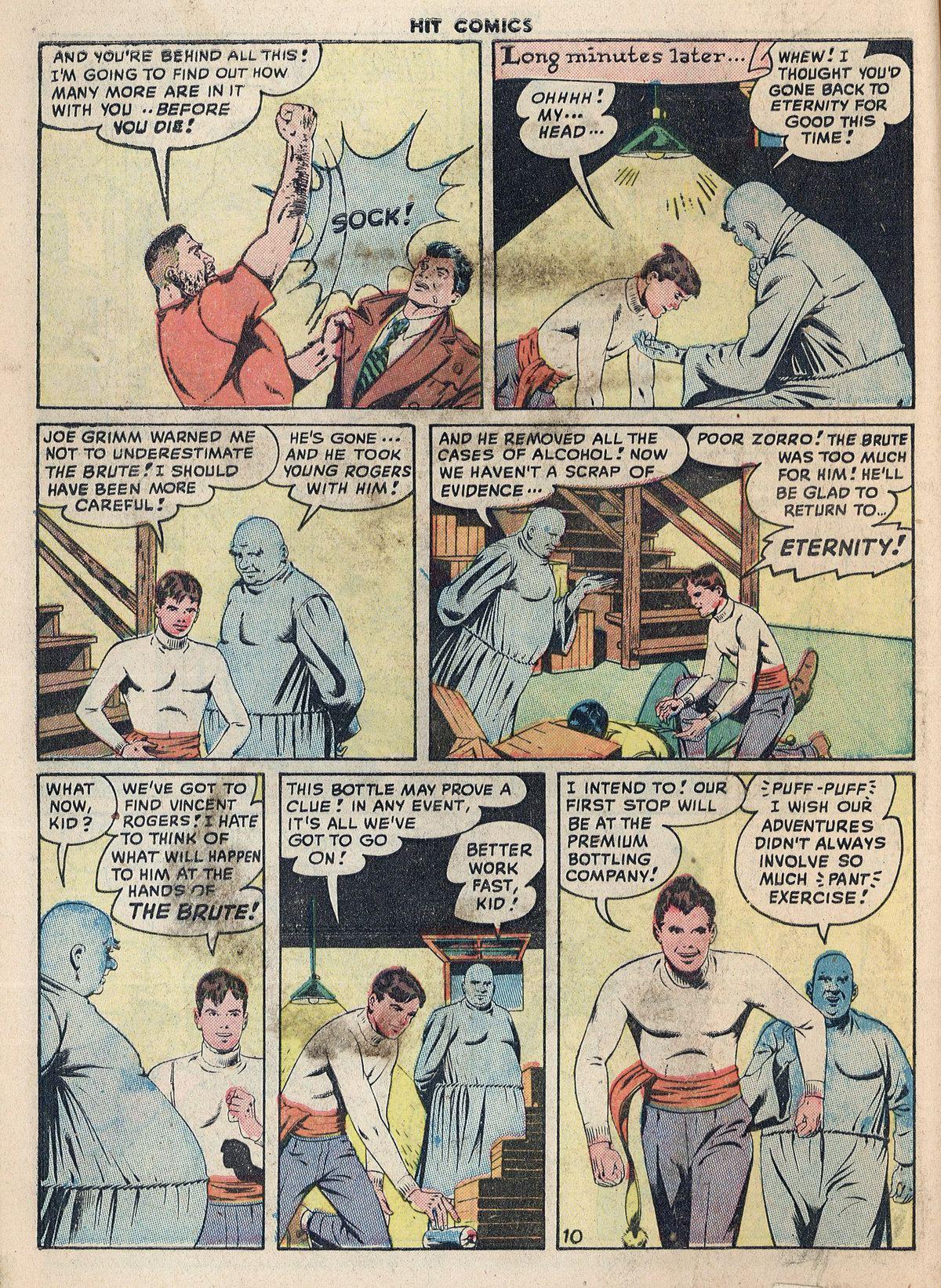 Read online Hit Comics comic -  Issue #55 - 12