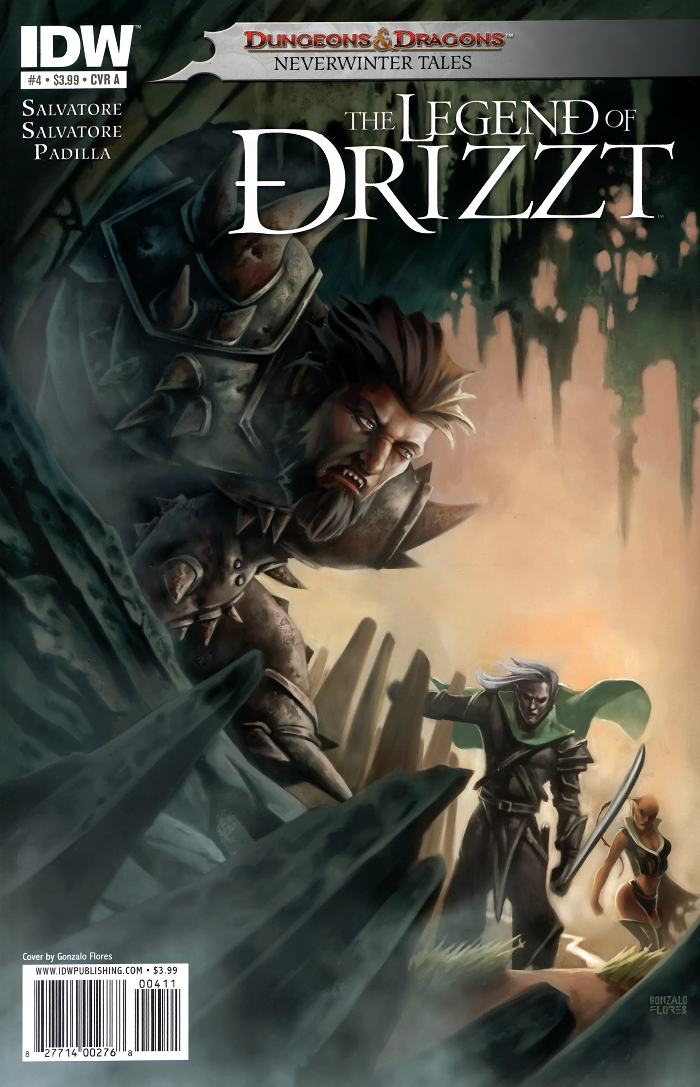 Dungeons & Dragons: The Legend of Drizzt: Neverwinter Tales 4 Page 1