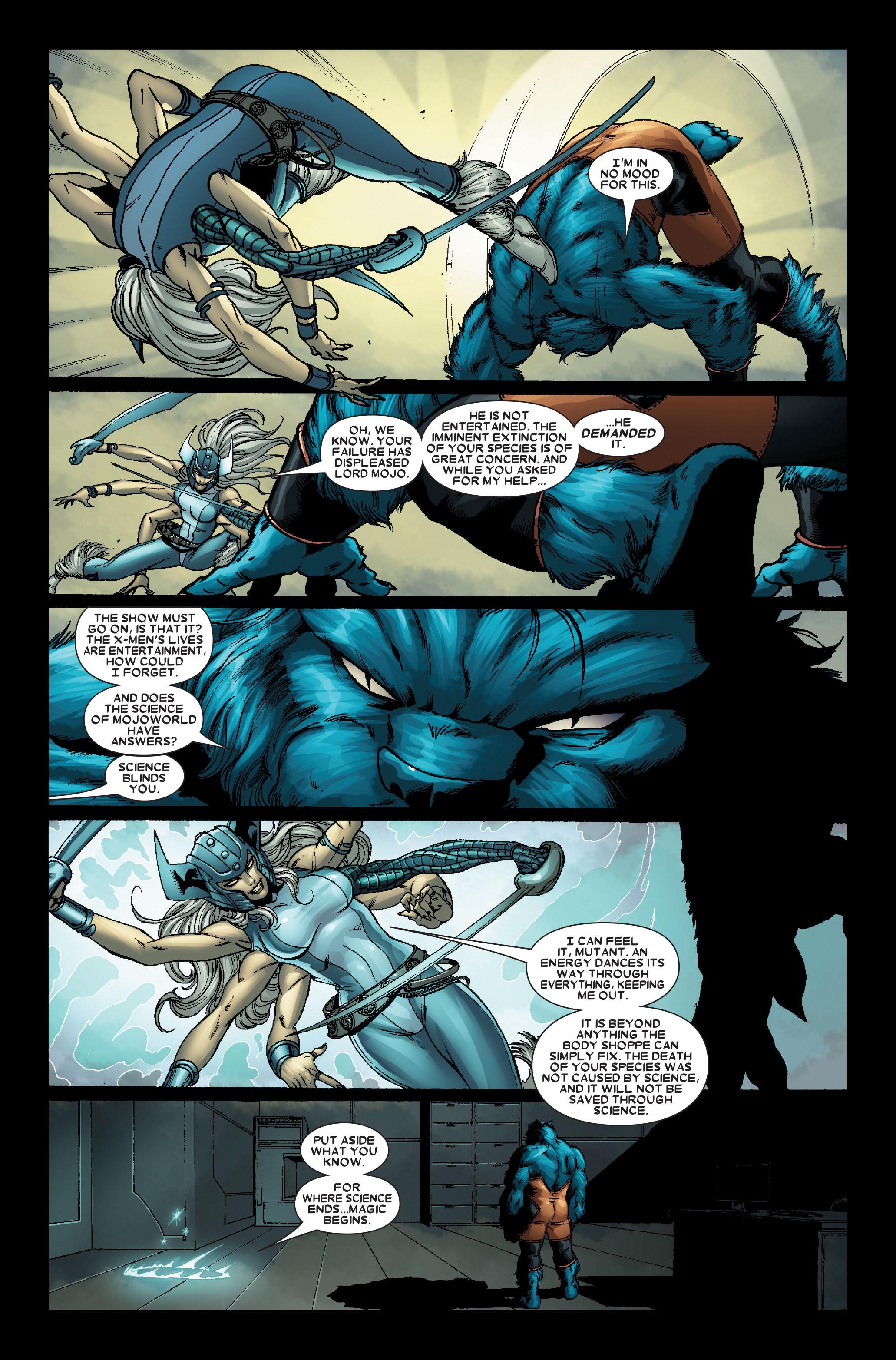 Read online Uncanny X-Men (1963) comic -  Issue #491 - 27