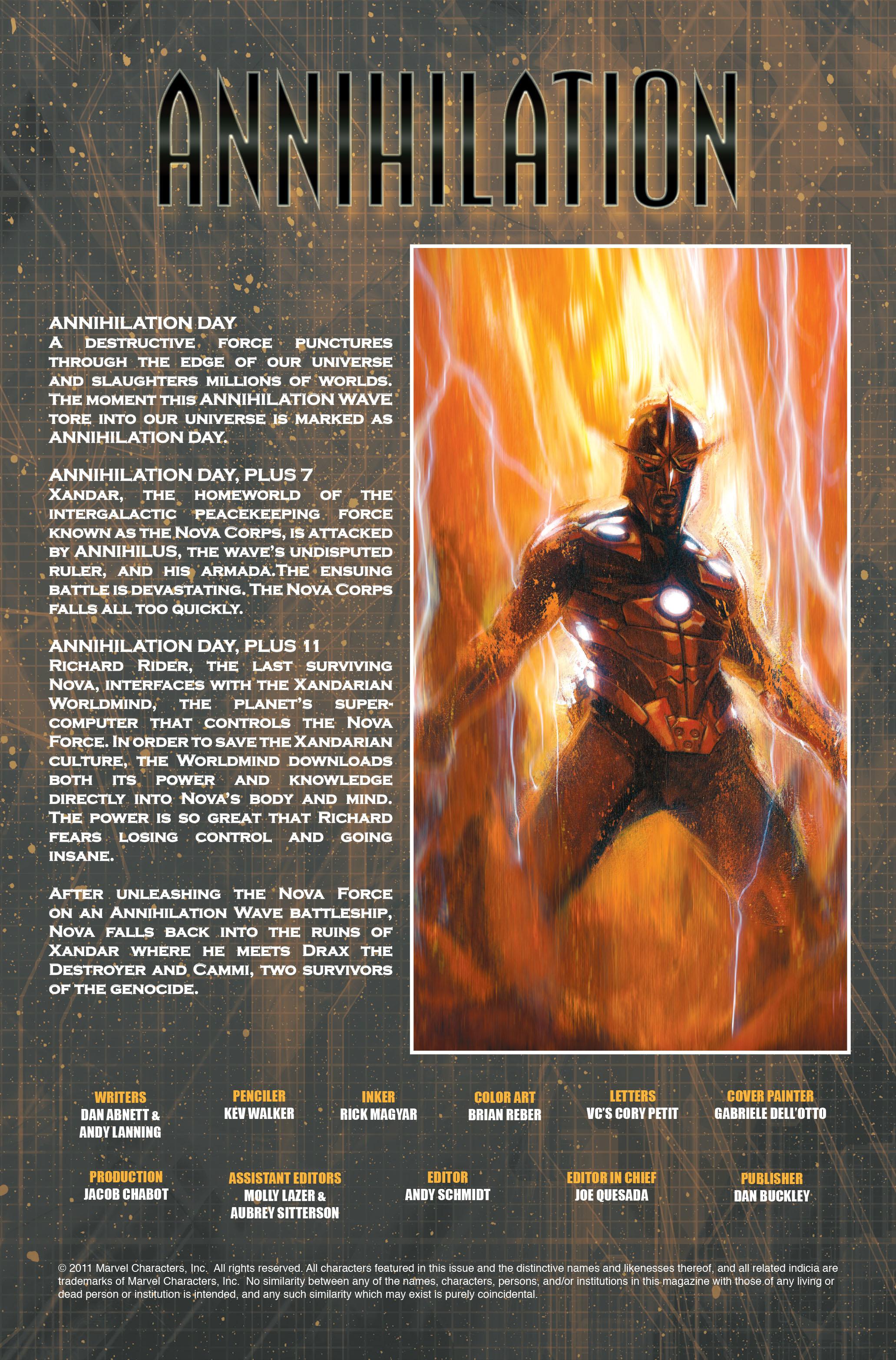 Read online Annihilation: Nova comic -  Issue #2 - 2