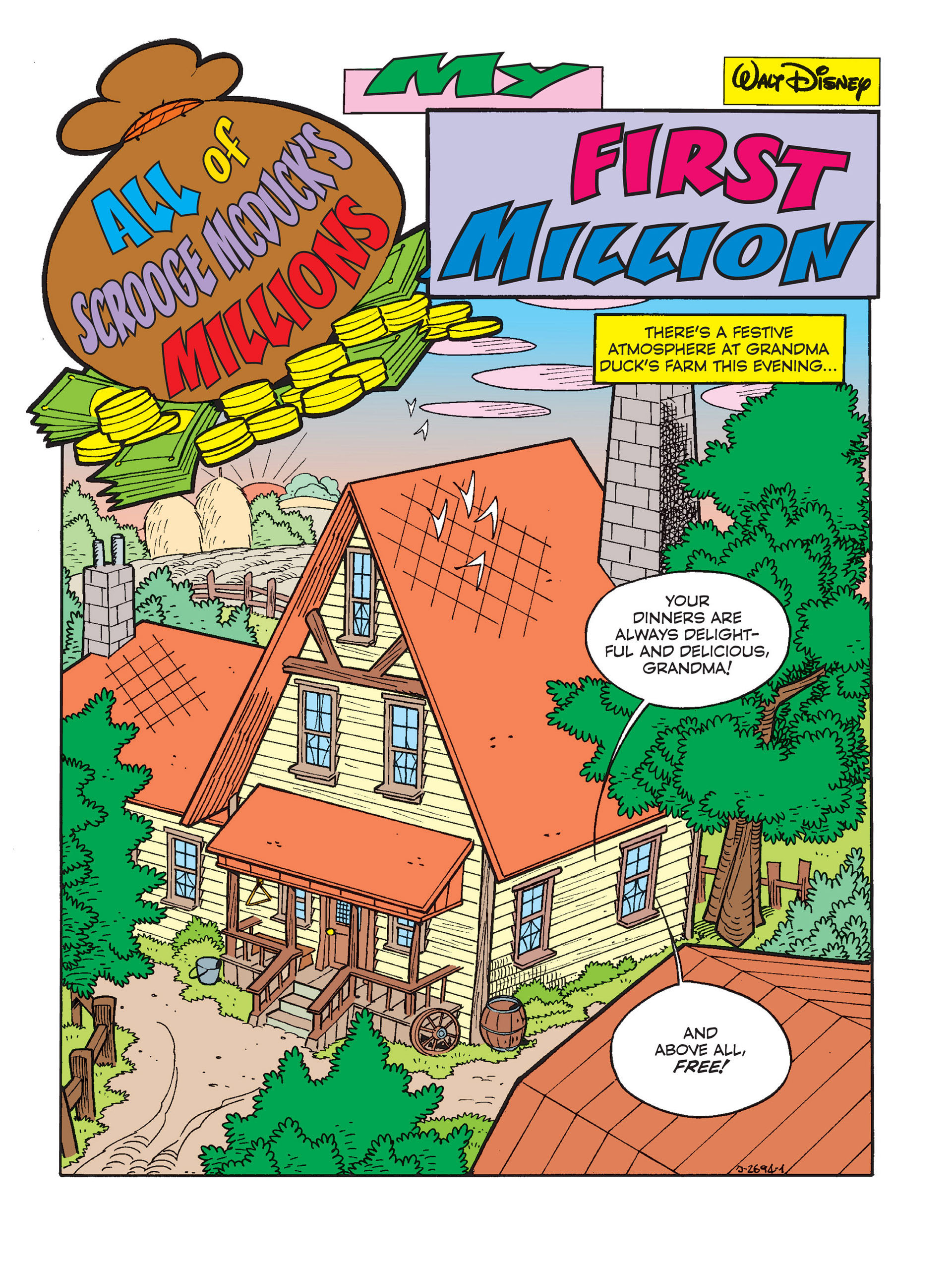 Read online All of Scrooge McDuck's Millions comic -  Issue #1 - 3