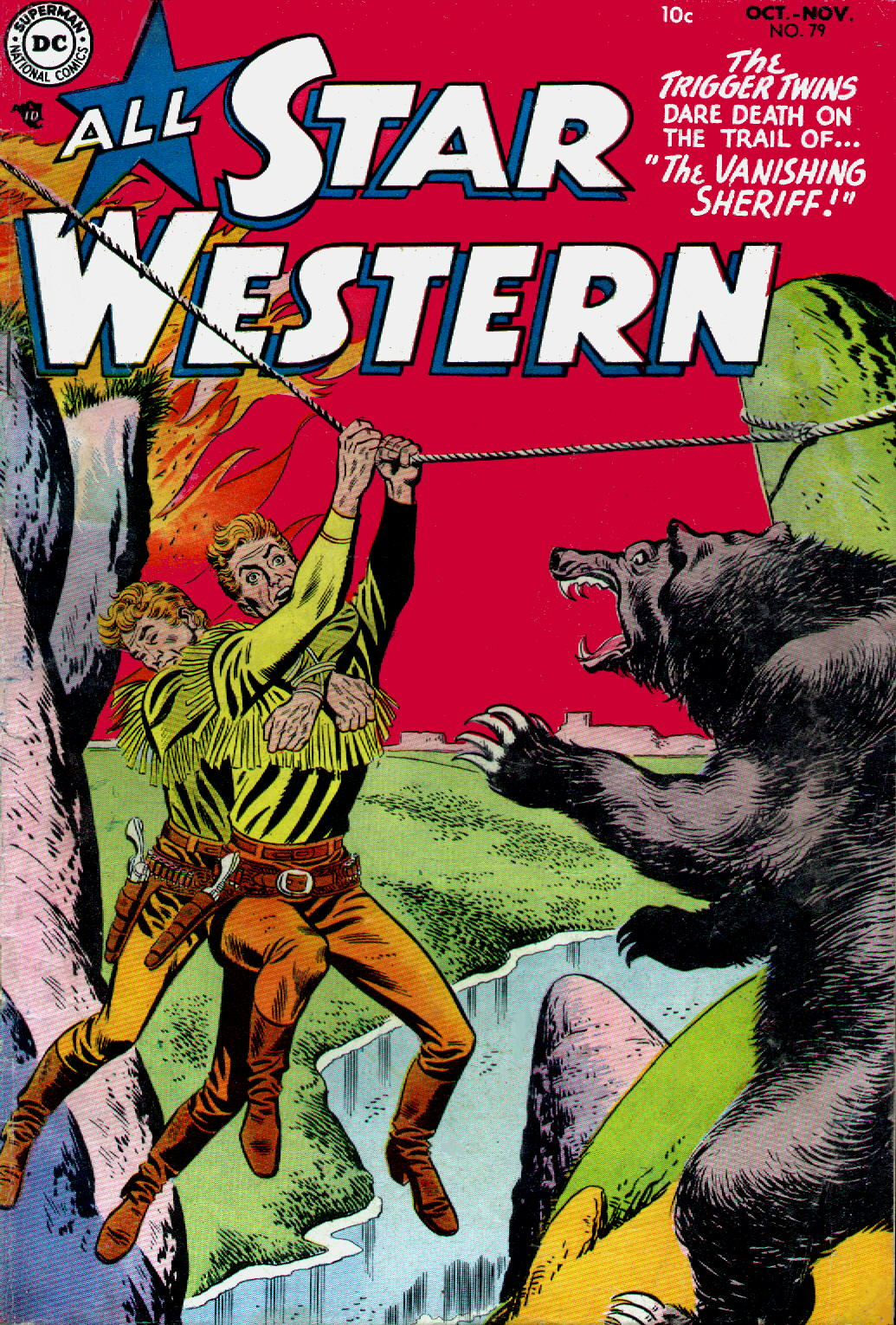 All-Star Western (1951) issue 79 - Page 1