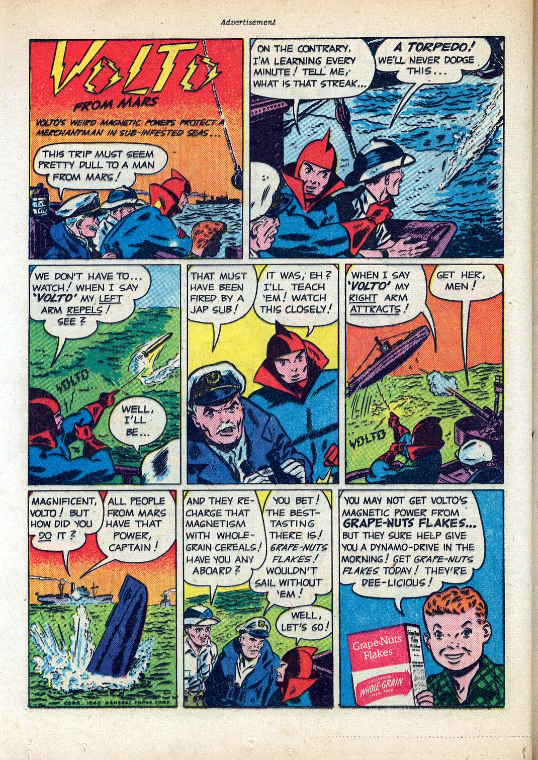 Read online Sensation (Mystery) Comics comic -  Issue #45 - 34