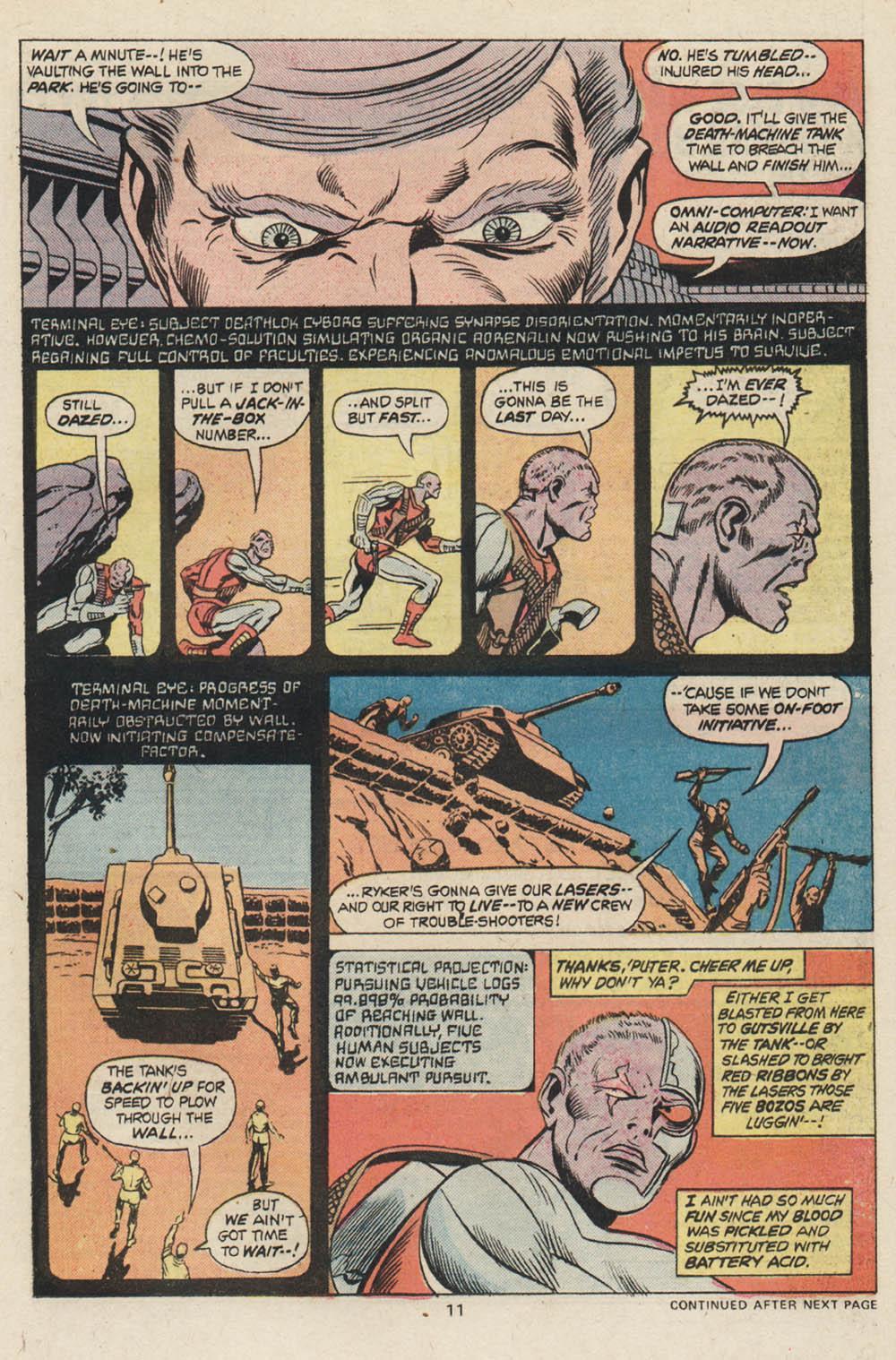 Read online Astonishing Tales (1970) comic -  Issue #30 - 8