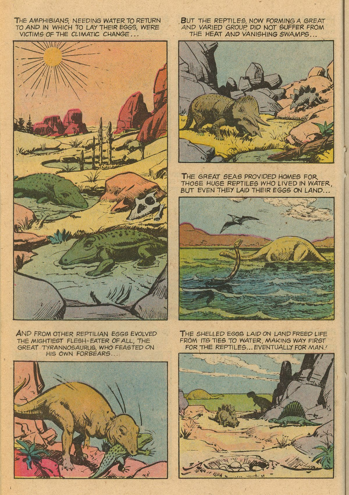 Read online Turok, Son of Stone comic -  Issue #115 - 22