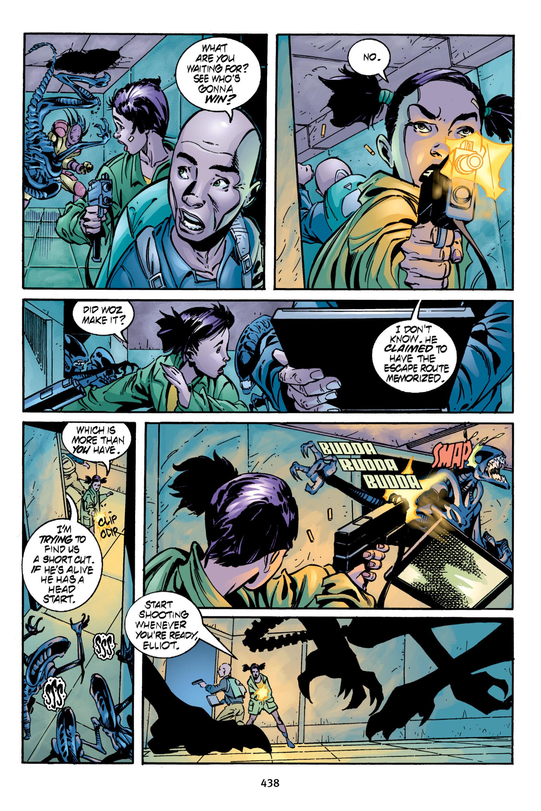 Read online Aliens vs. Predator Omnibus comic -  Issue # _TPB 2 Part 4 - 100