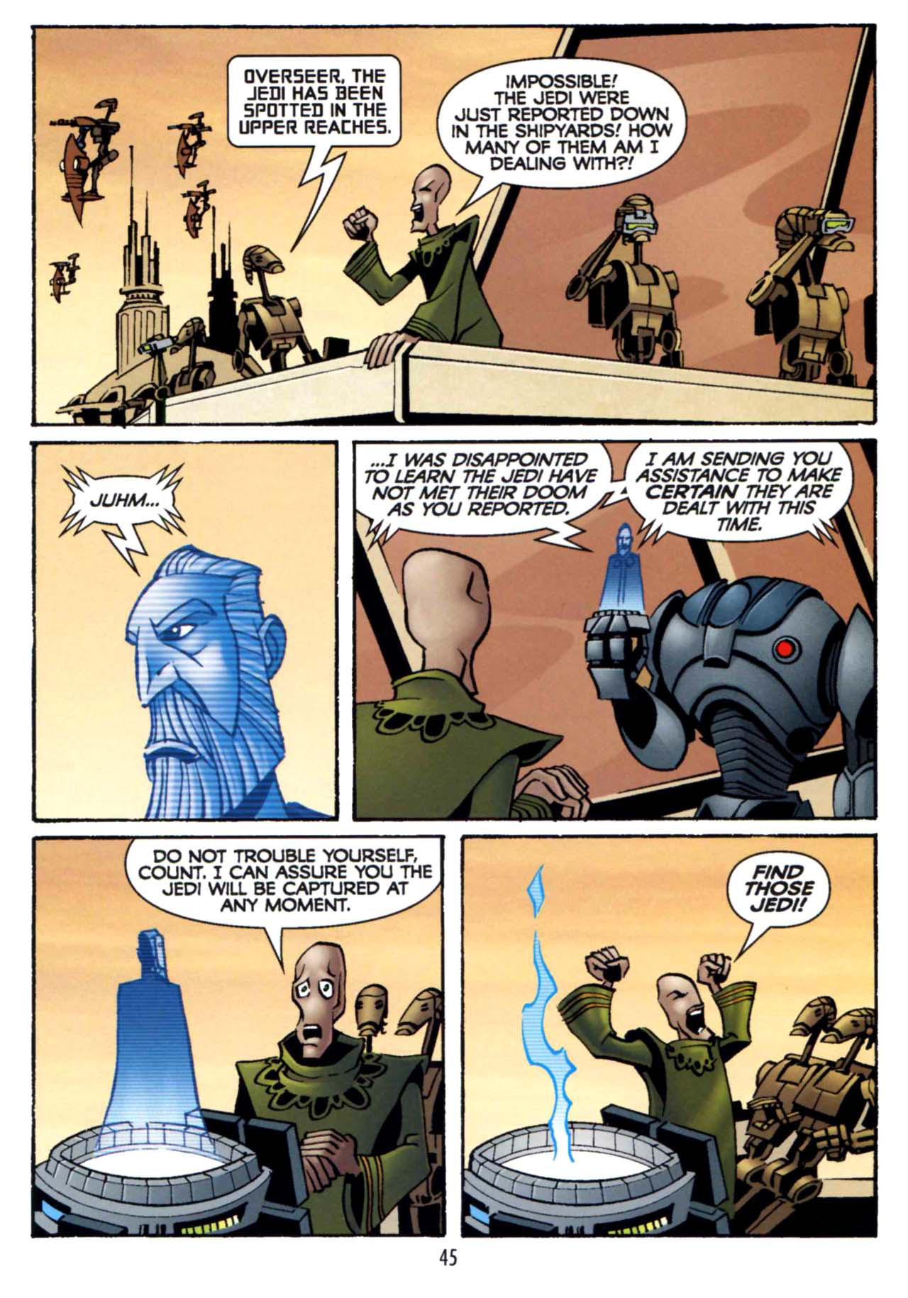Read online Star Wars: The Clone Wars - Shipyards of Doom comic -  Issue # Full - 43