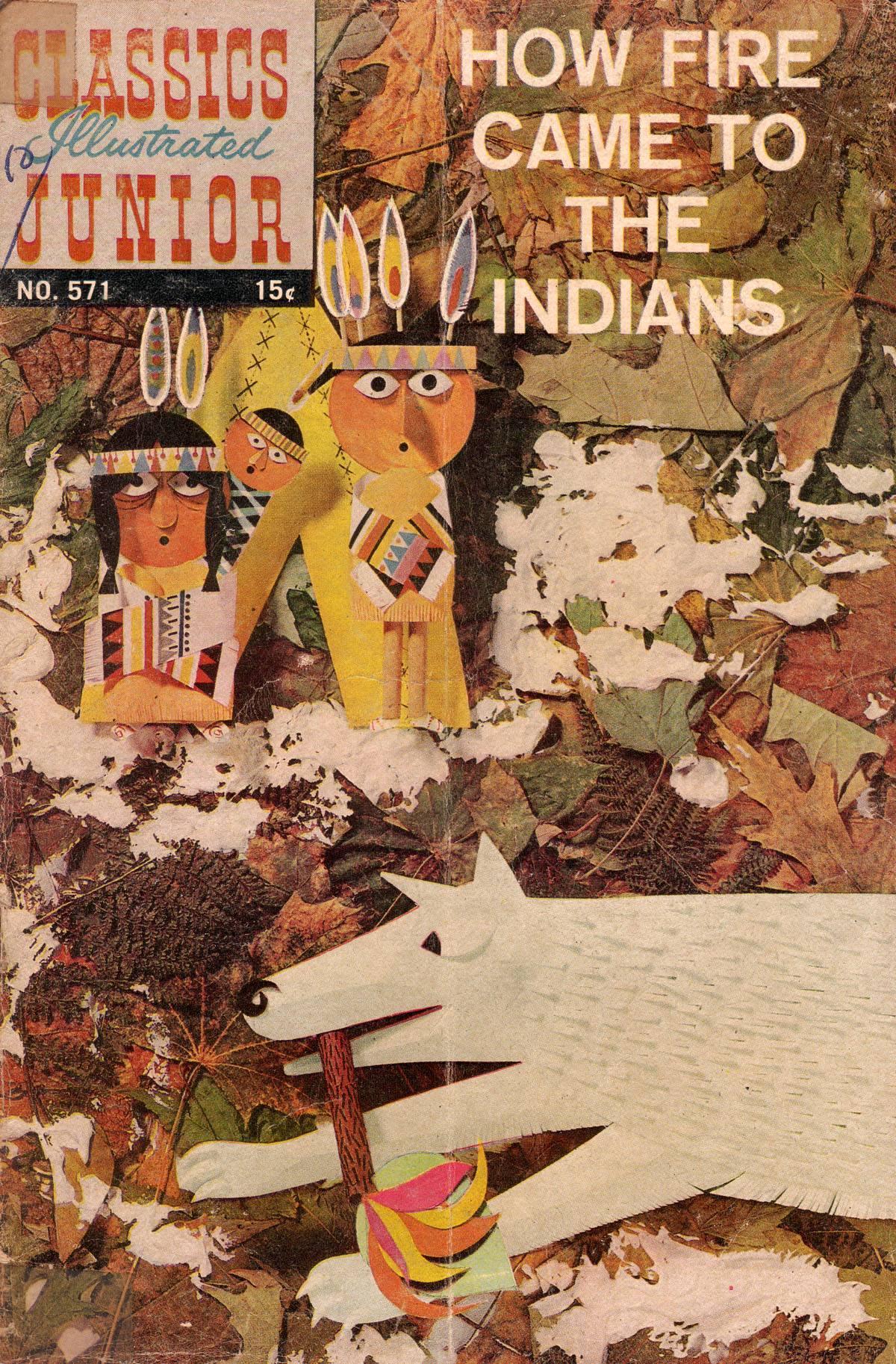 Classics Illustrated Junior 571 Page 1