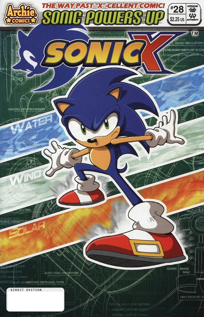 Read online Sonic X comic -  Issue #28 - 1