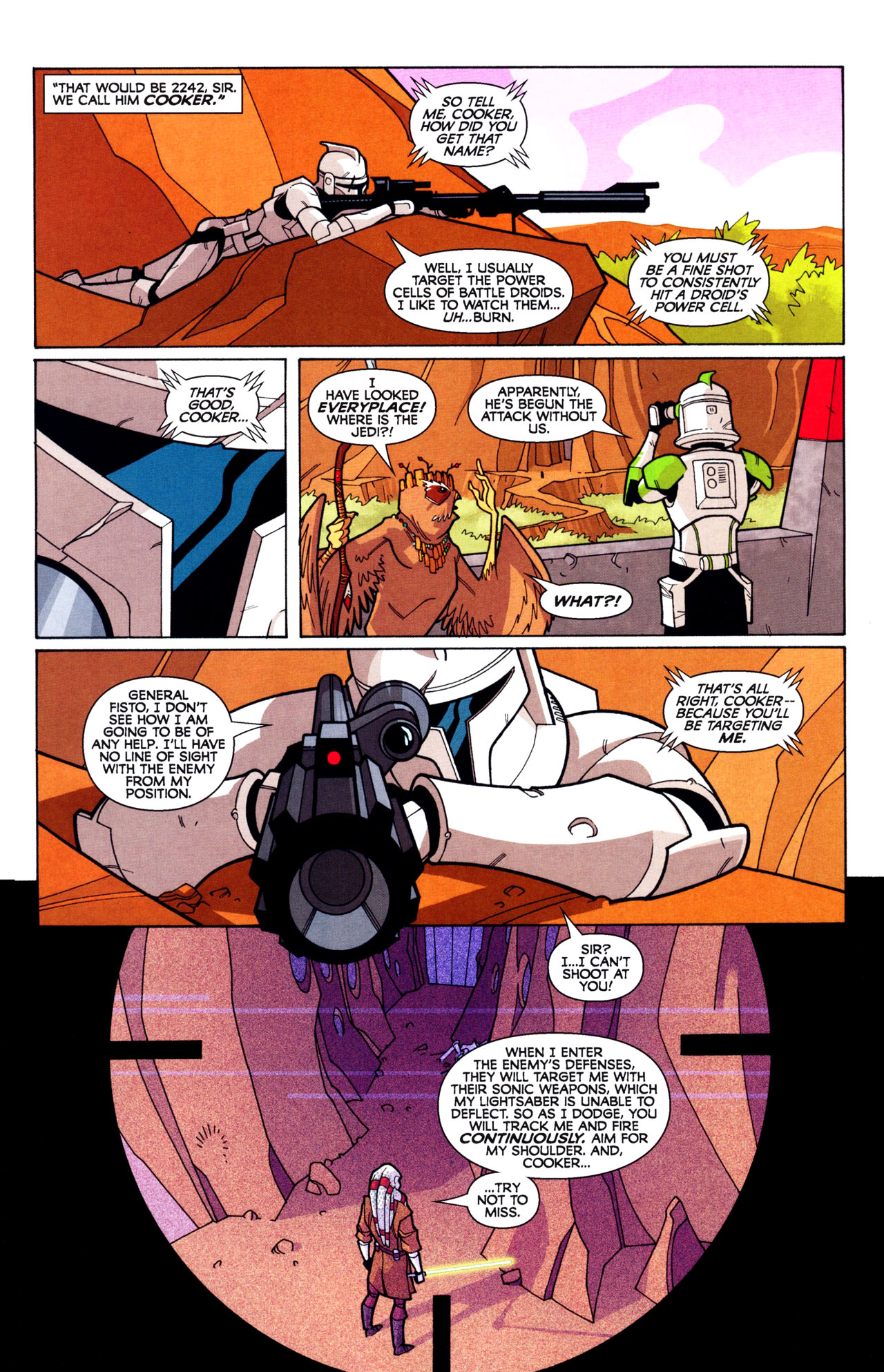 Read online Free Comic Book Day and Star Wars: The Clone Wars-Gauntlet of Death comic -  Issue # Full - 5