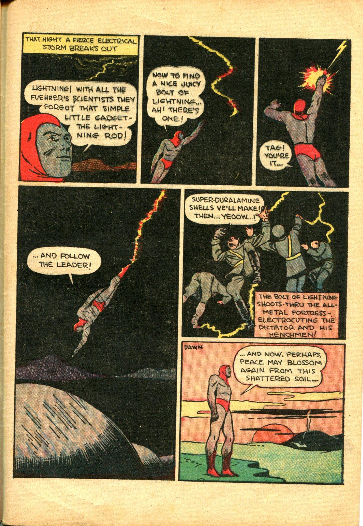 Read online Shadow Comics comic -  Issue #10 - 57