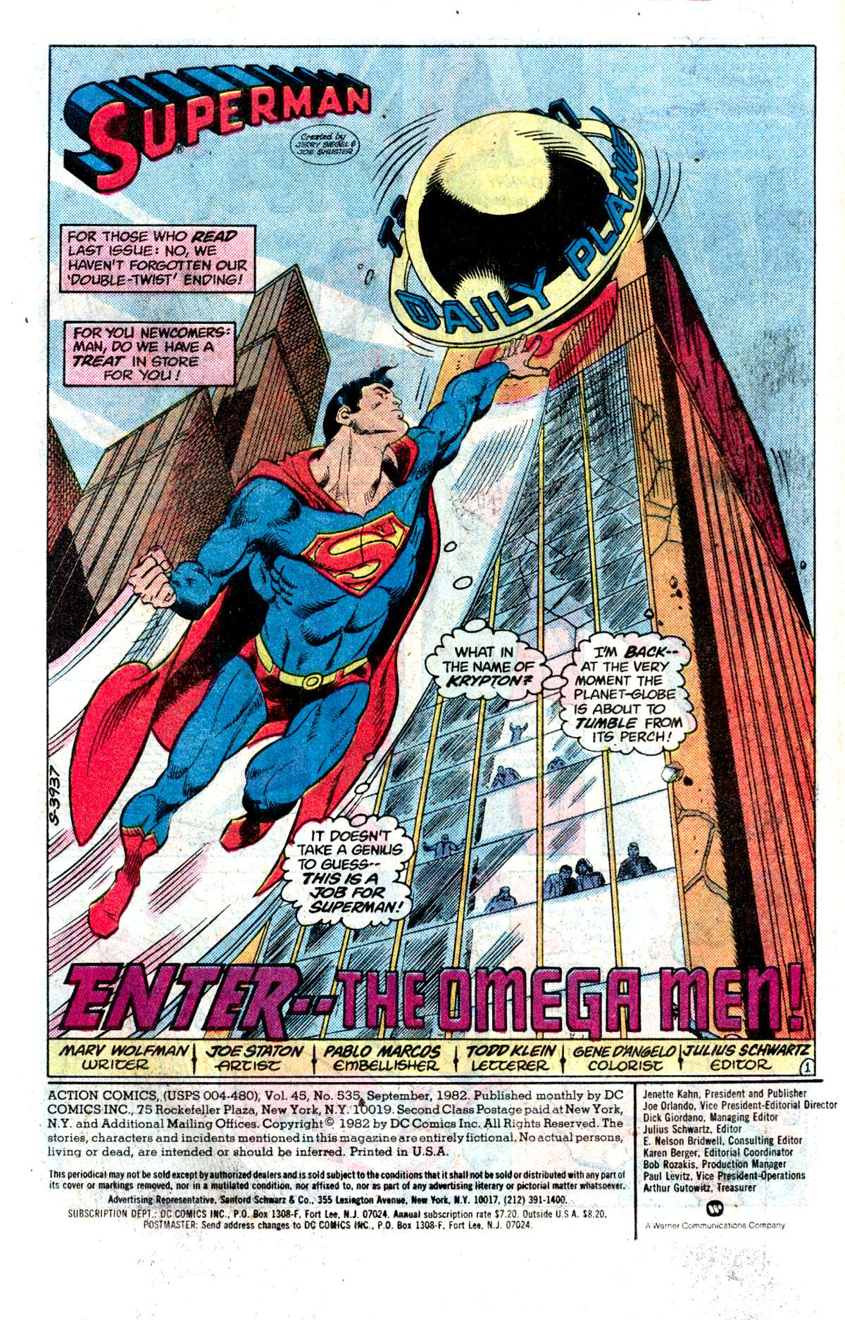 Read online Action Comics (1938) comic -  Issue #535 - 2