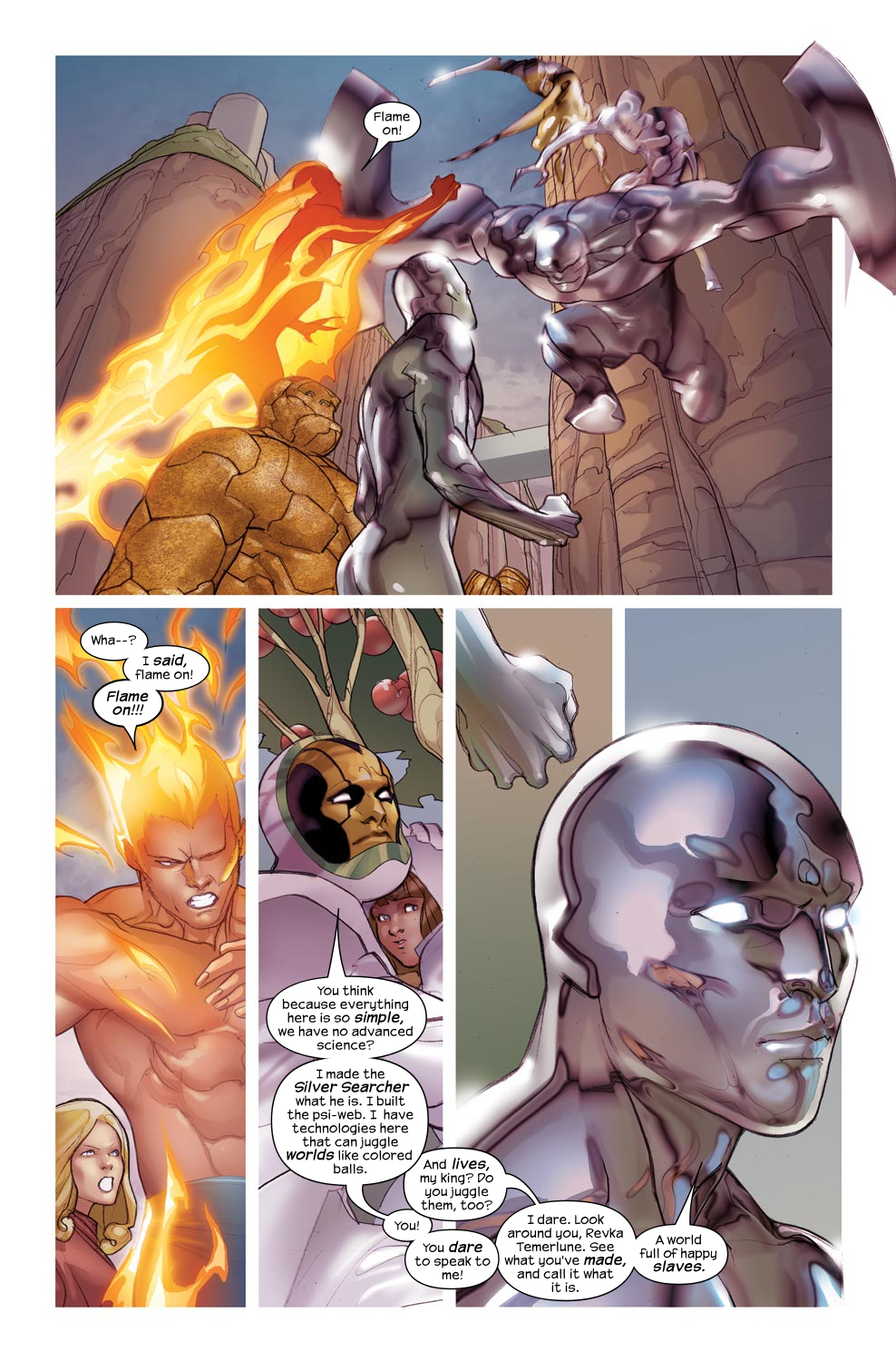 Read online Ultimate Fantastic Four (2004) comic -  Issue #46 - 15