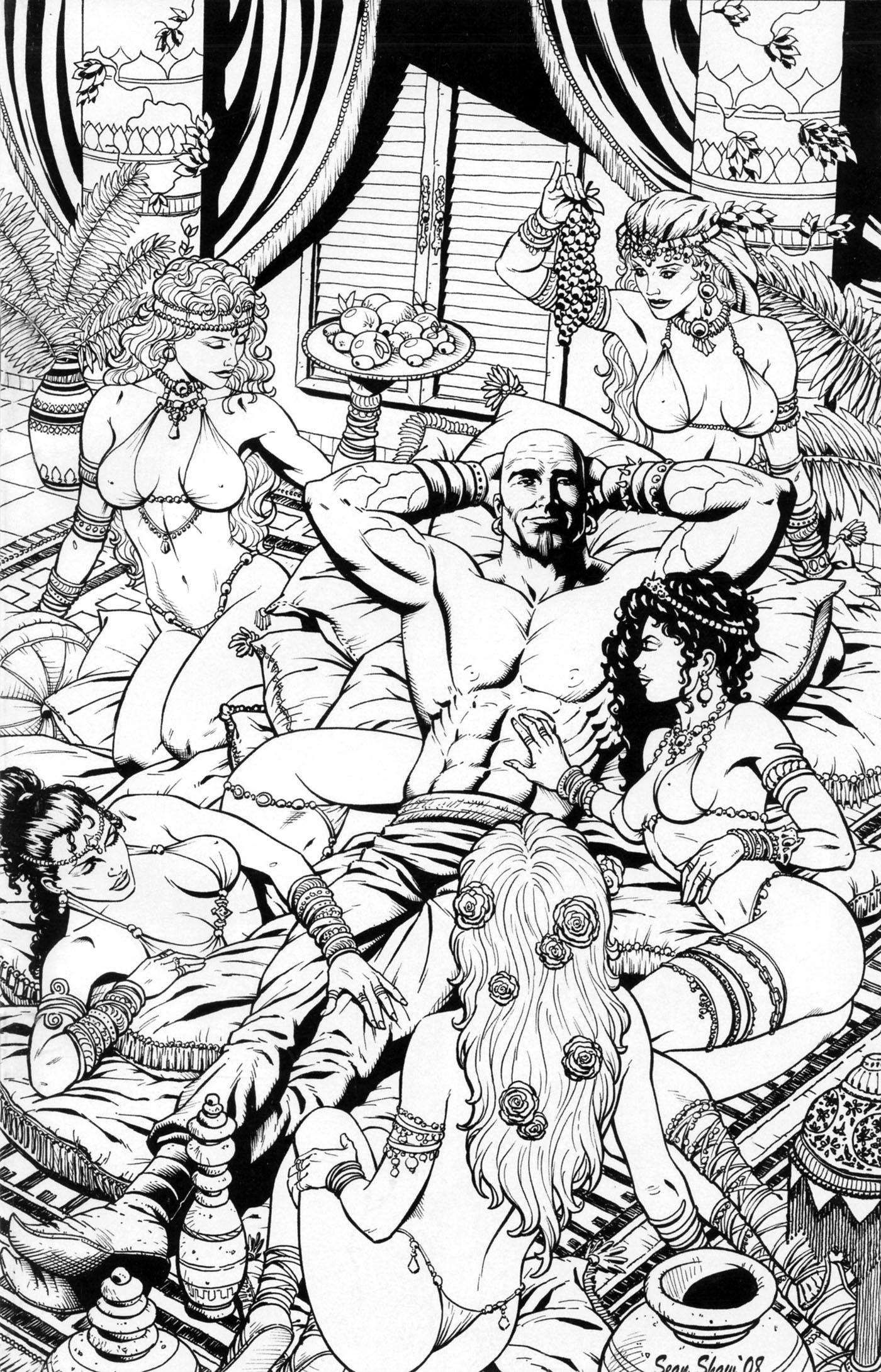 Read online 1001 Arabian Nights: The Adventures of Sinbad comic -  Issue #2 - 4