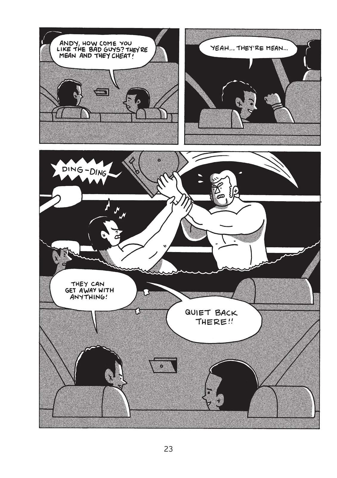 Read online Is This Guy For Real?: The Unbelievable Andy Kaufman comic -  Issue # TPB (Part 1) - 28