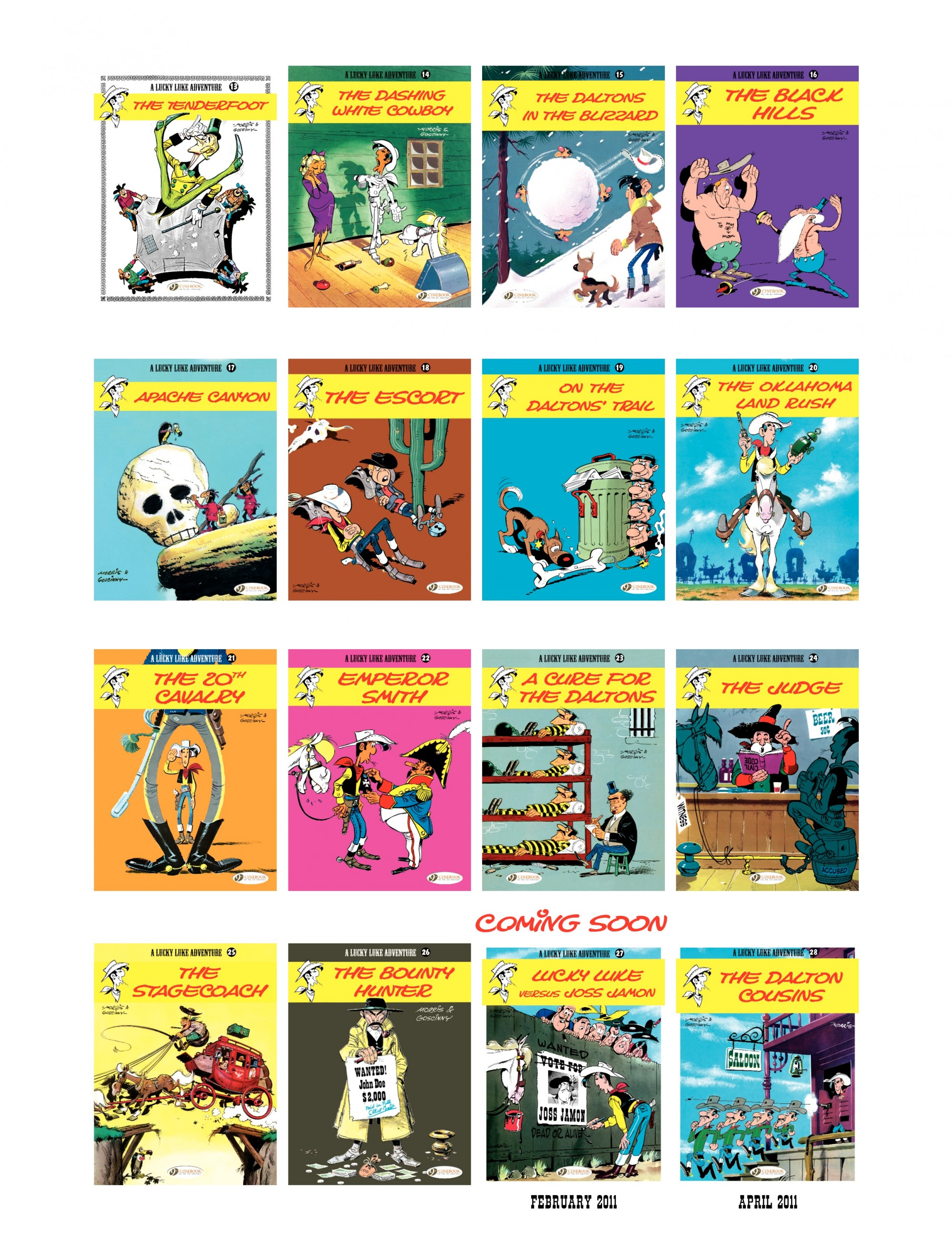 Read online A Lucky Luke Adventure comic -  Issue #26 - 48