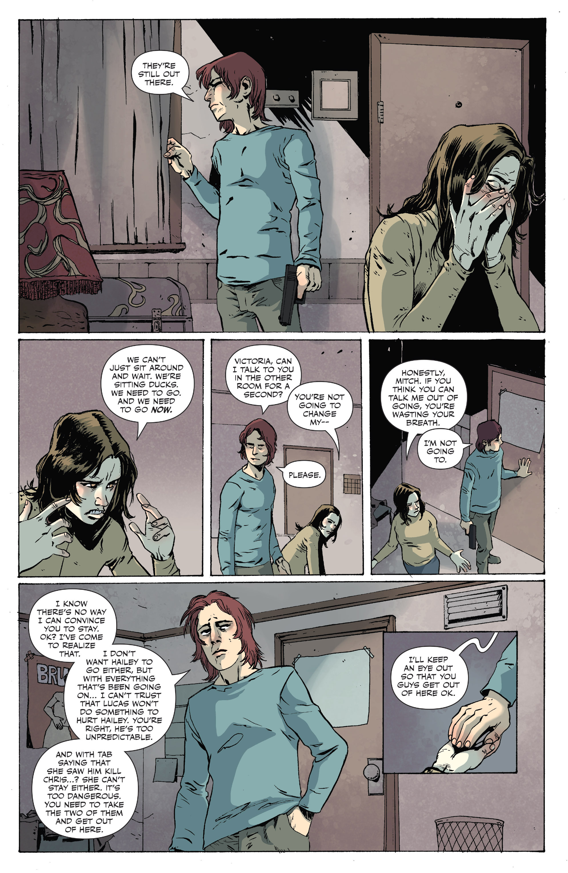 Read online Sheltered comic -  Issue #10 - 16