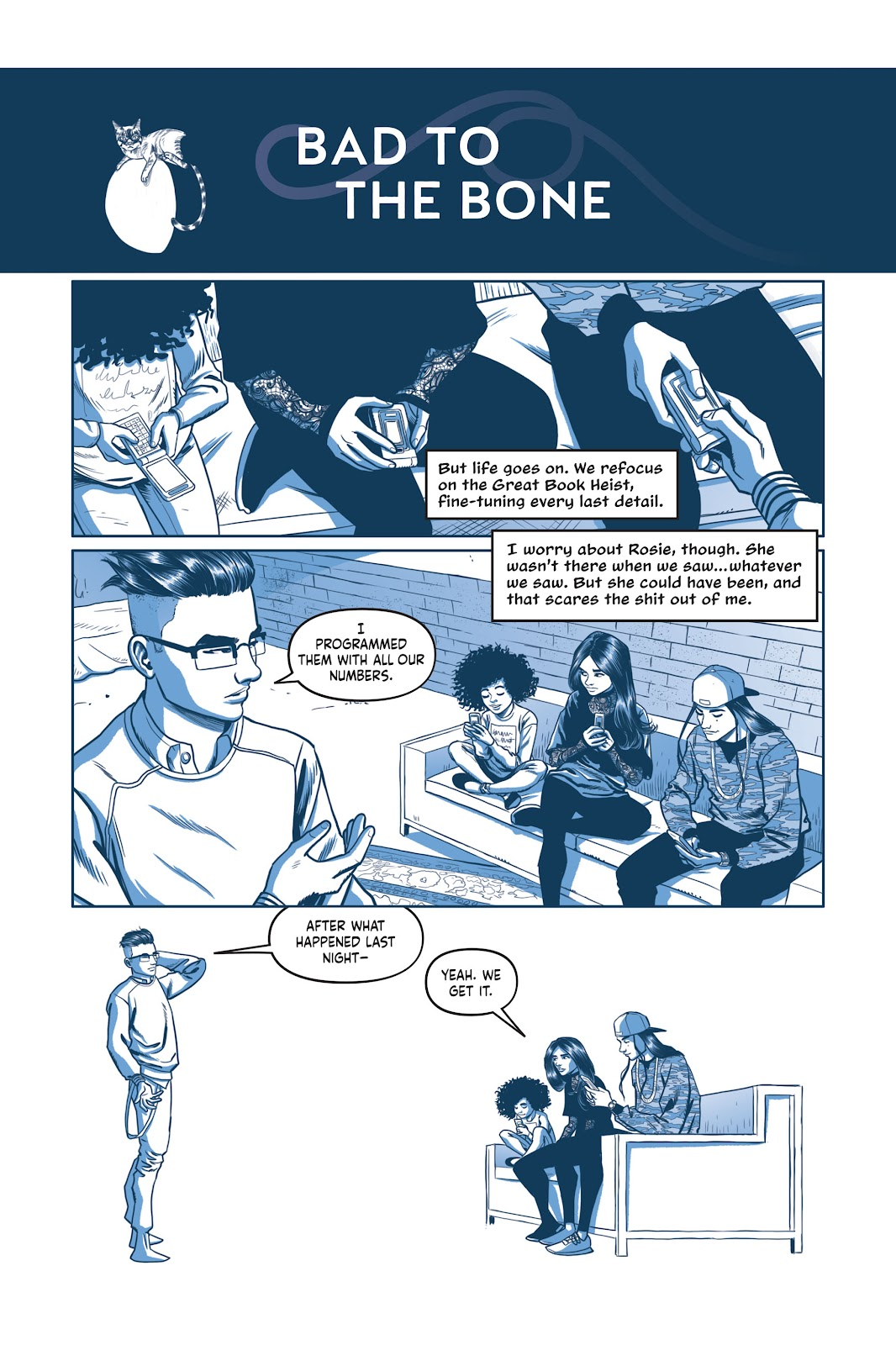 Read online Under the Moon: A Catwoman Tale comic -  Issue # TPB (Part 2) - 34