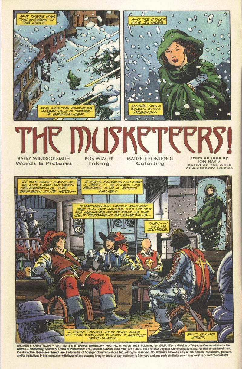 Read online Eternal Warrior (1992) comic -  Issue #8 - 3