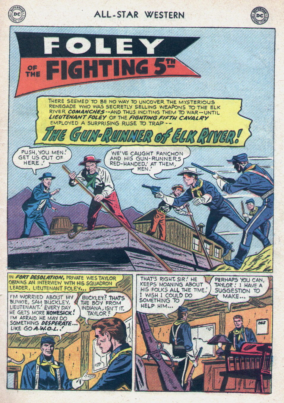 Read online All-Star Western (1951) comic -  Issue #90 - 19