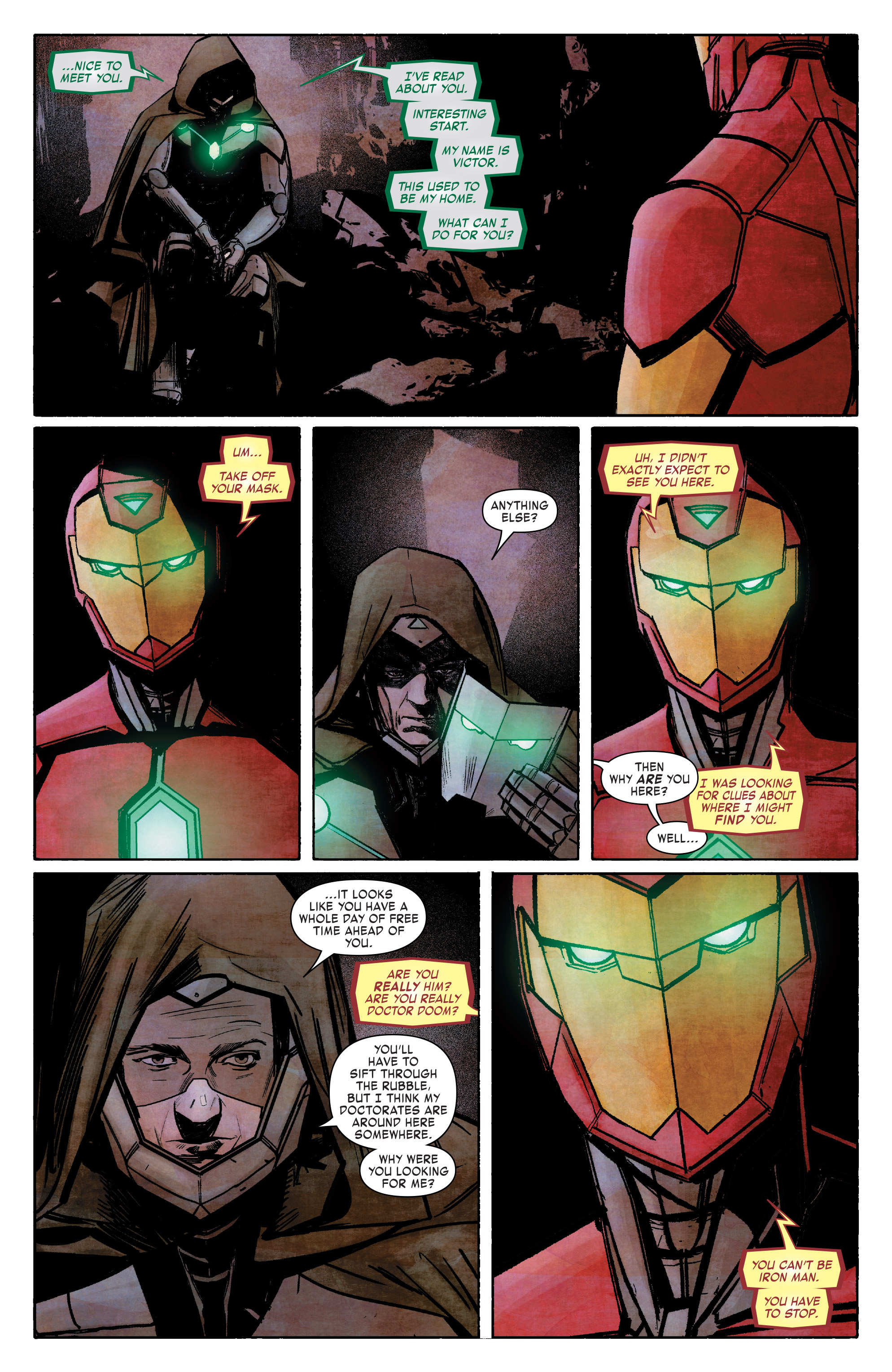 Read online Infamous Iron Man comic -  Issue #8 - 6
