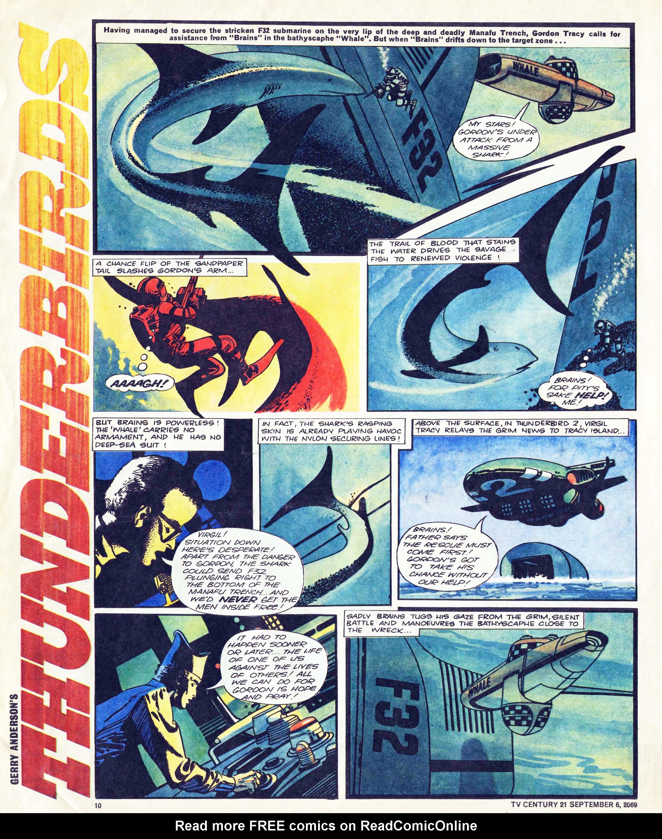 Read online TV Century 21 (TV 21) comic -  Issue #242 - 10