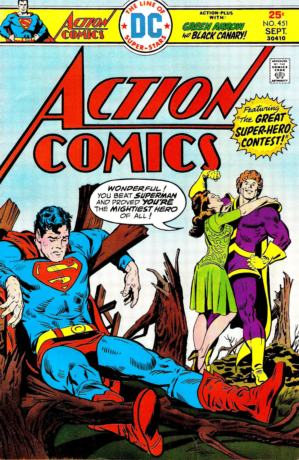 Read online Action Comics (1938) comic -  Issue #451 - 1