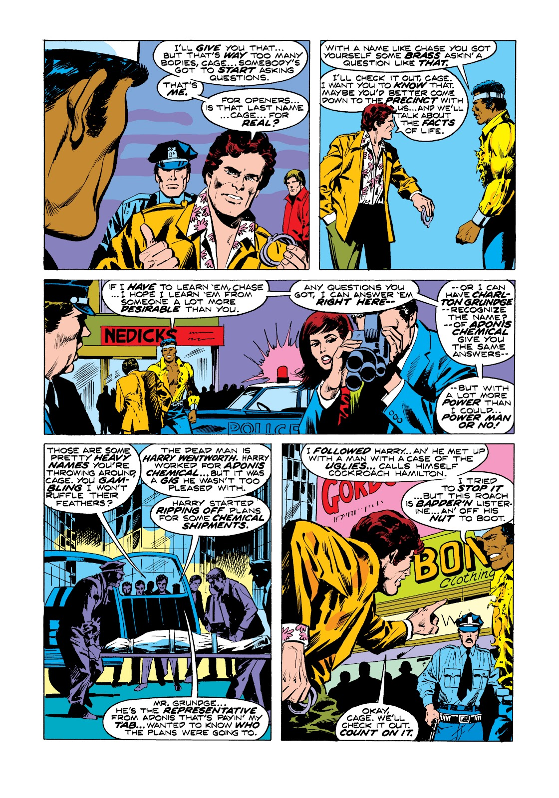 Read online Marvel Masterworks: Luke Cage, Power Man comic -  Issue # TPB 2 (Part 3) - 28
