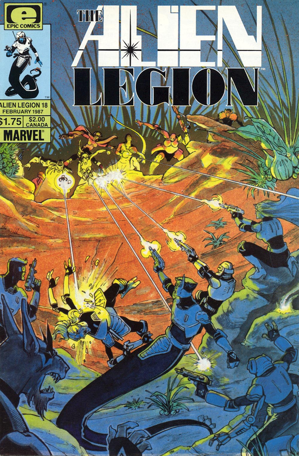Read online Alien Legion comic -  Issue #18 - 1