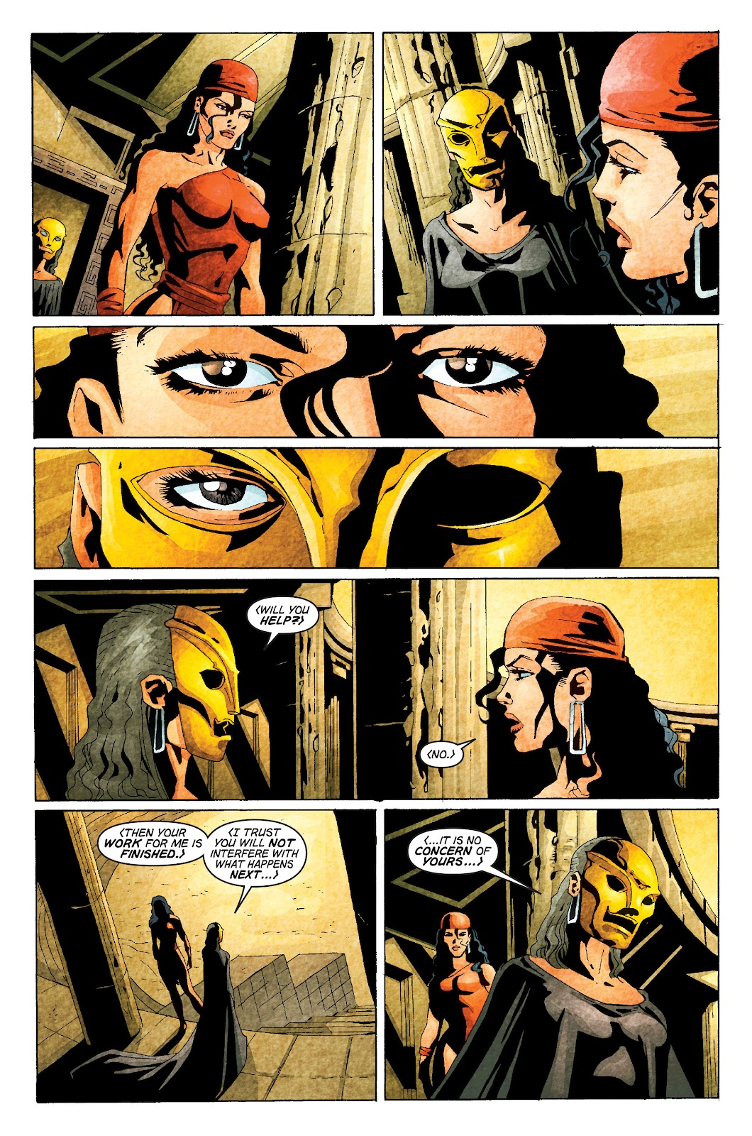 Read online Elektra (2001) comic -  Issue # _TPB Elektra by Greg Rucka Ultimate Collection (Part 1) - 63