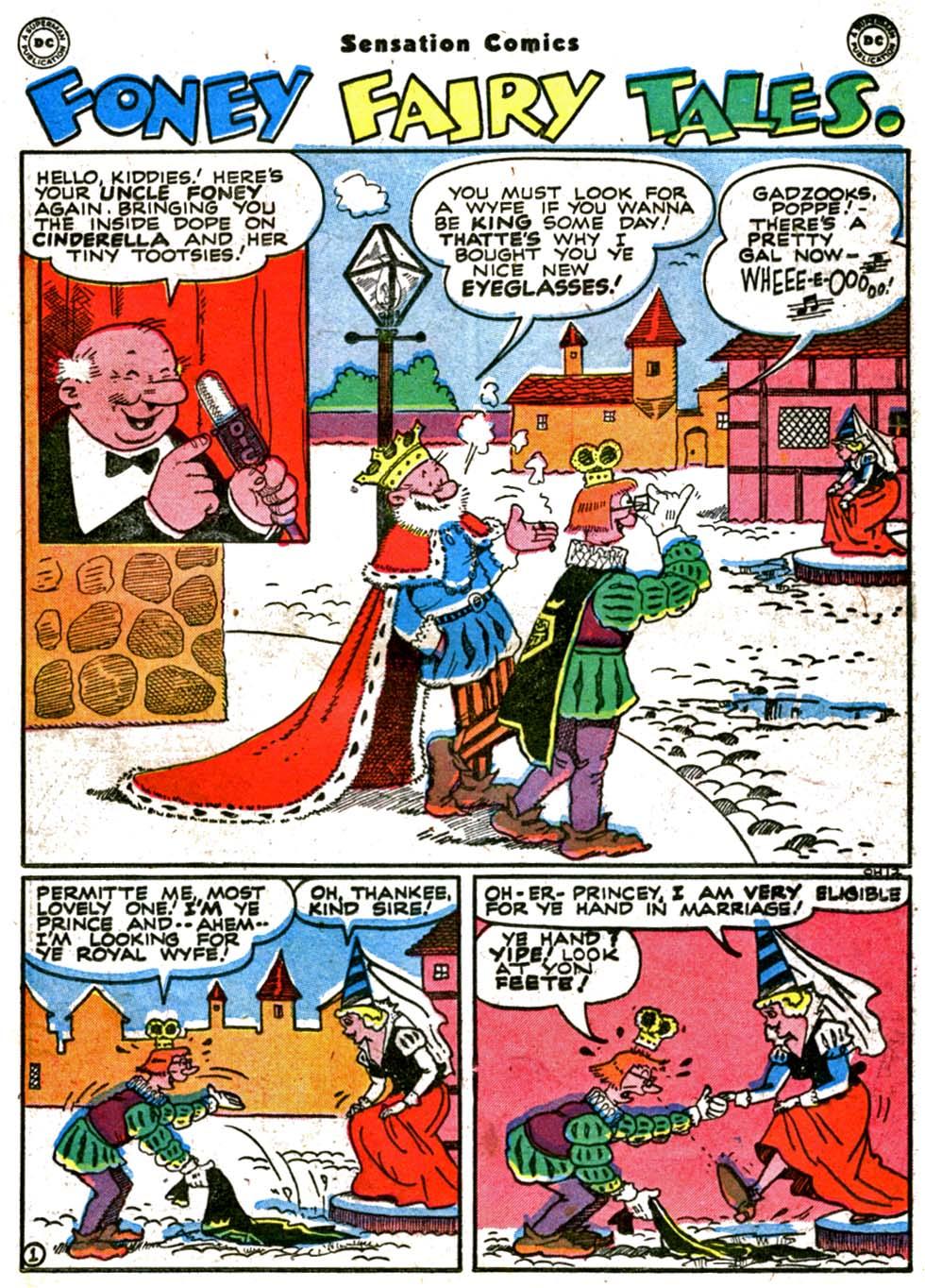Read online Sensation (Mystery) Comics comic -  Issue #64 - 35