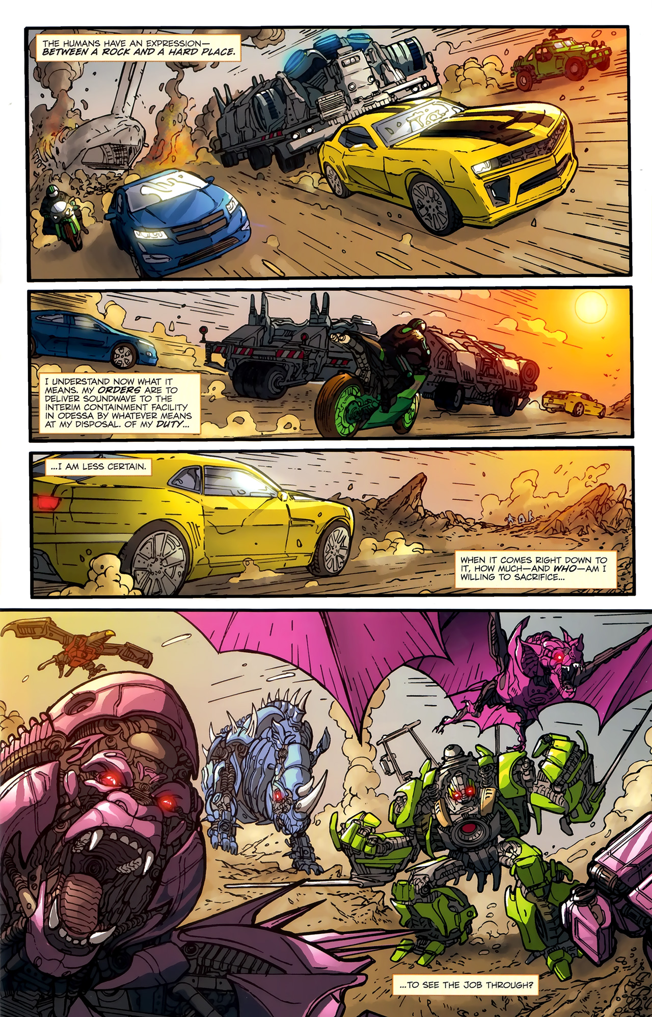 Read online Transformers: Nefarious comic -  Issue #3 - 16