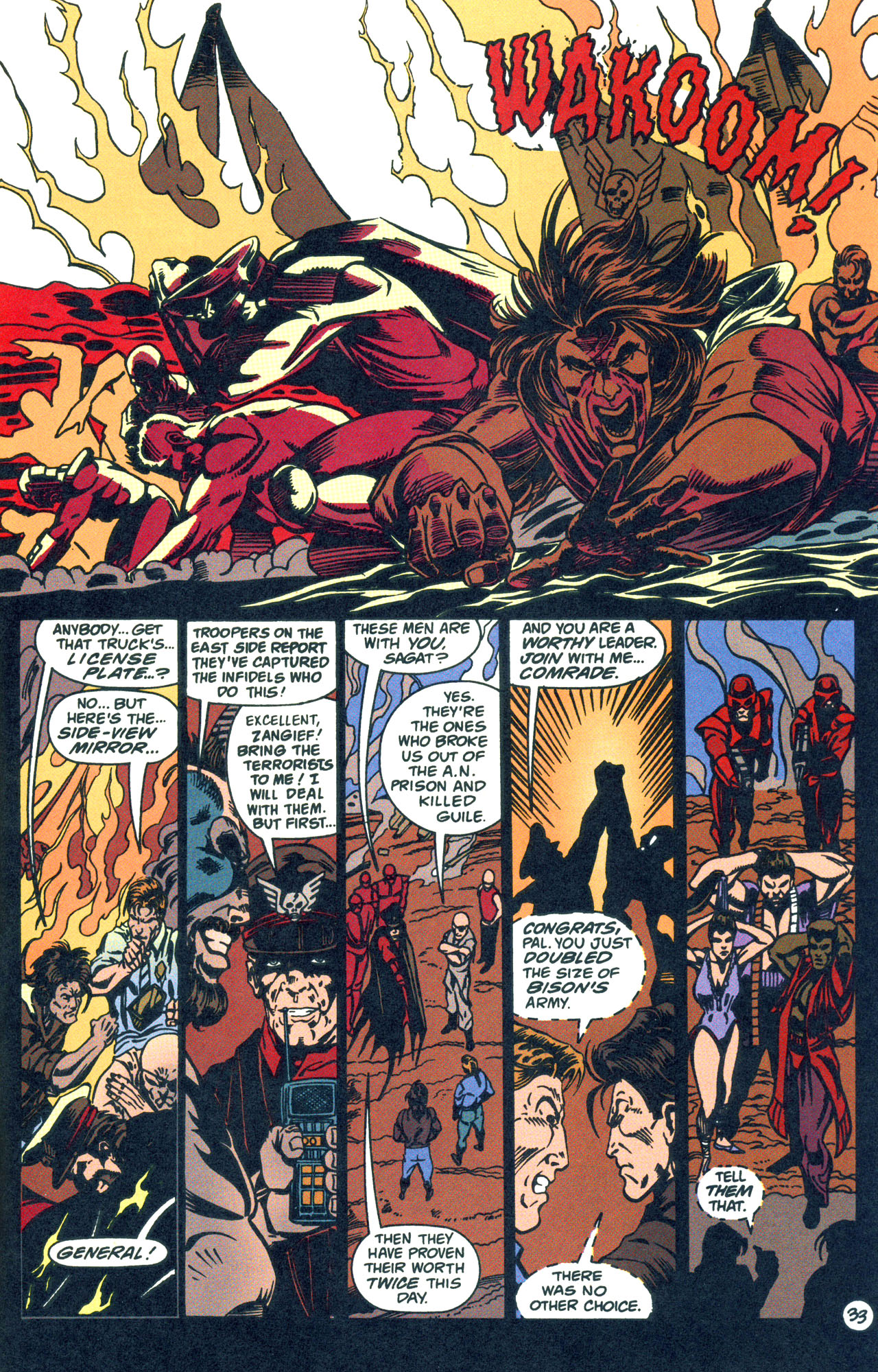 Read online Street Fighter: The Battle For Shadaloo comic -  Issue # Full - 34