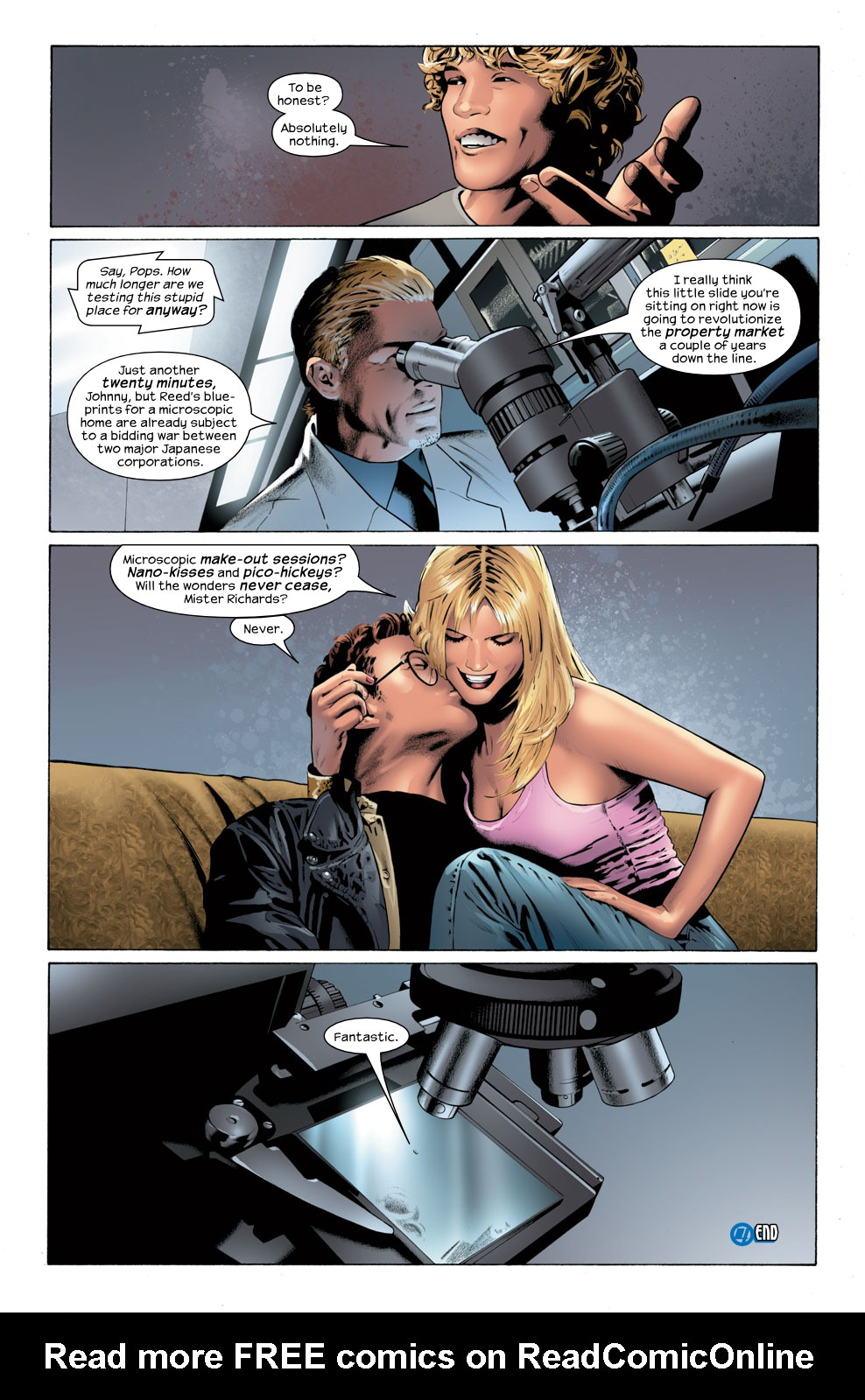 Read online Ultimate Fantastic Four (2004) comic -  Issue #32 - 24