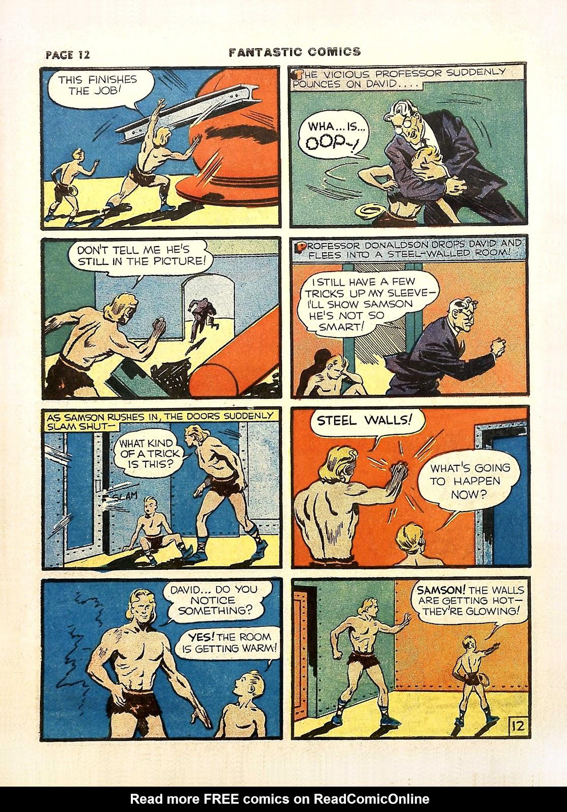 Read online Fantastic Comics comic -  Issue #11 - 15