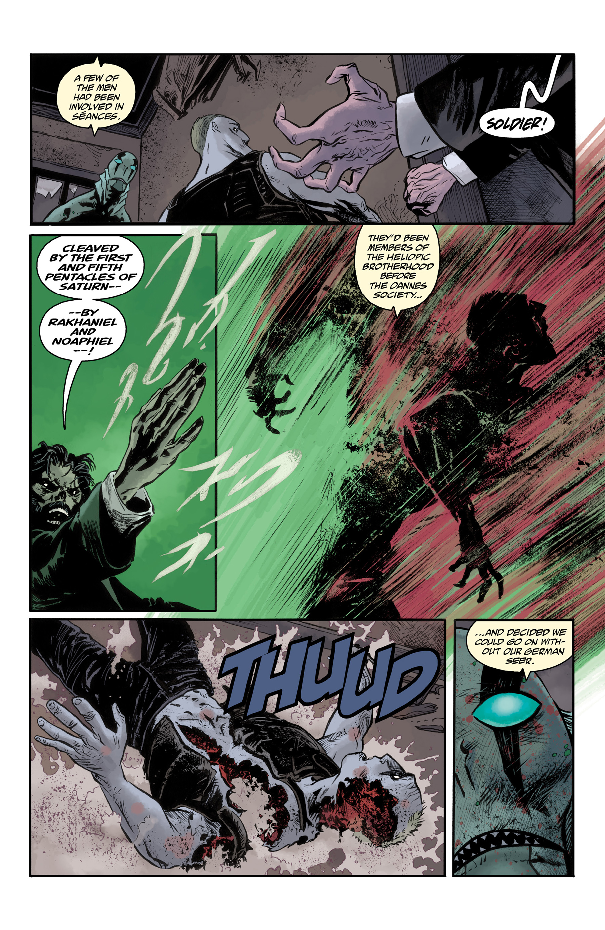 Read online Abe Sapien comic -  Issue #33 - 16