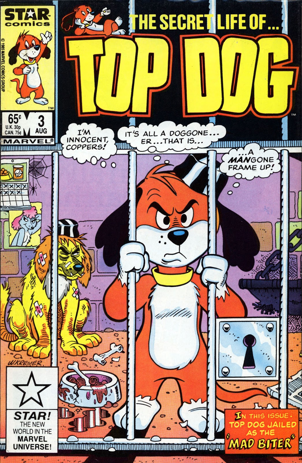 Top Dog issue 3 - Page 1